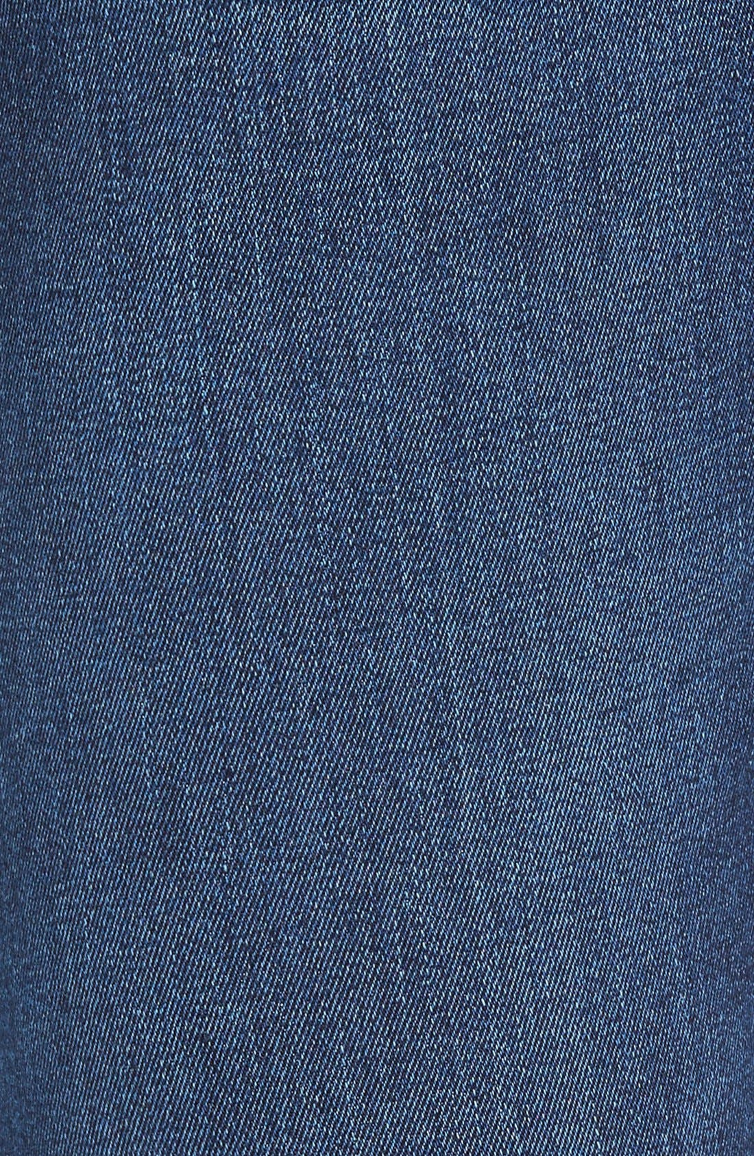 Russel Slim Straight Fit Jeans,                             Alternate thumbnail 5, color,                             405