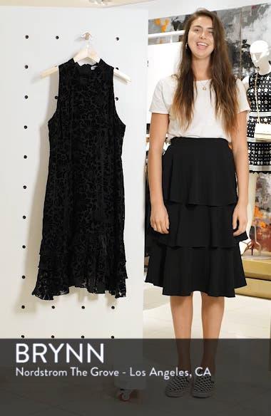 Burnout Velvet Sheath Dress, sales video thumbnail