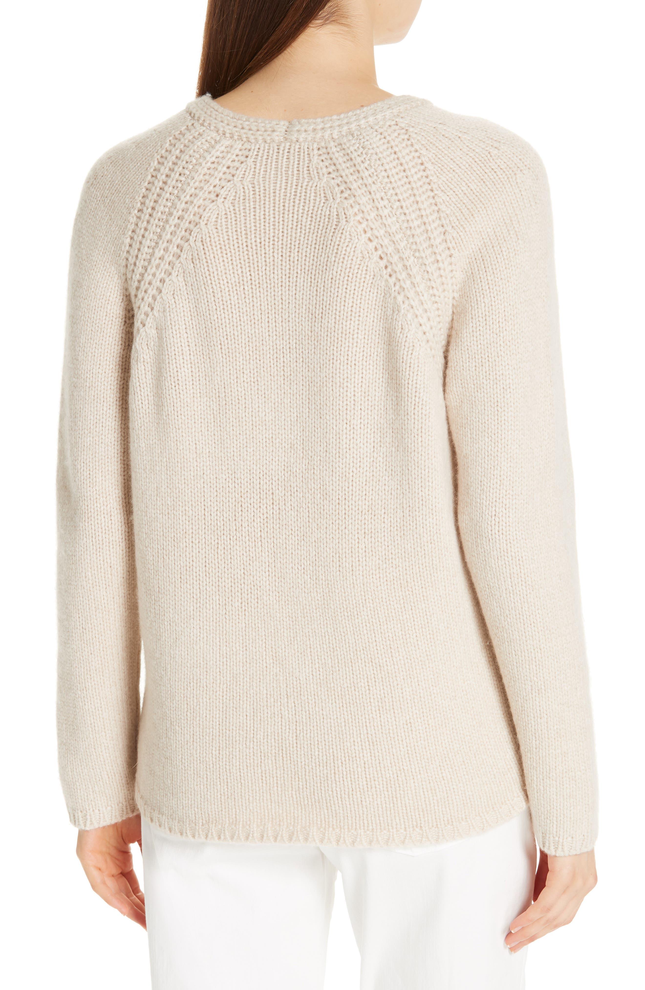 V-Neck Cashmere Sweater,                             Alternate thumbnail 2, color,                             264