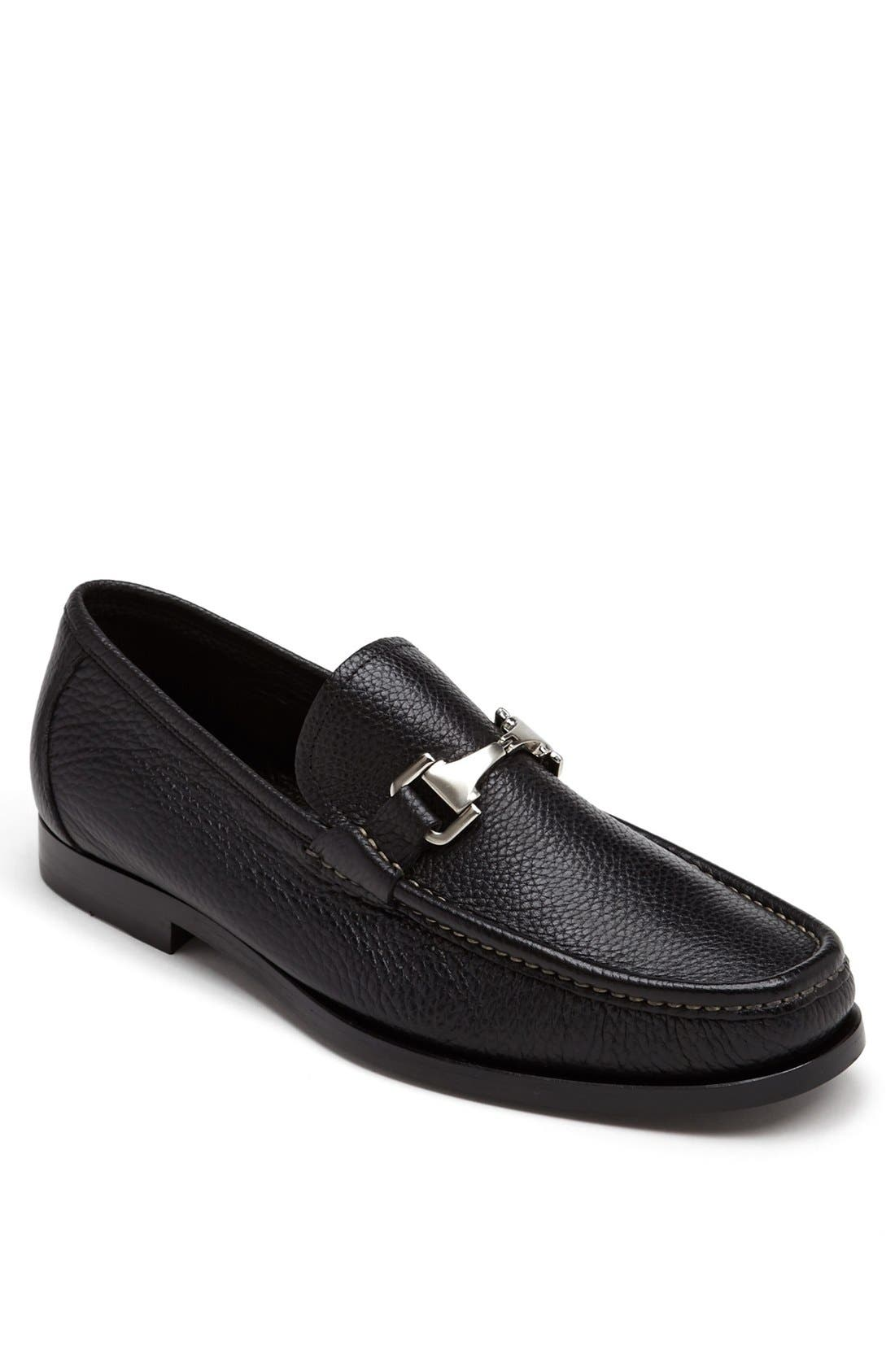 'Firenze' Bit Loafer,                         Main,                         color, 001