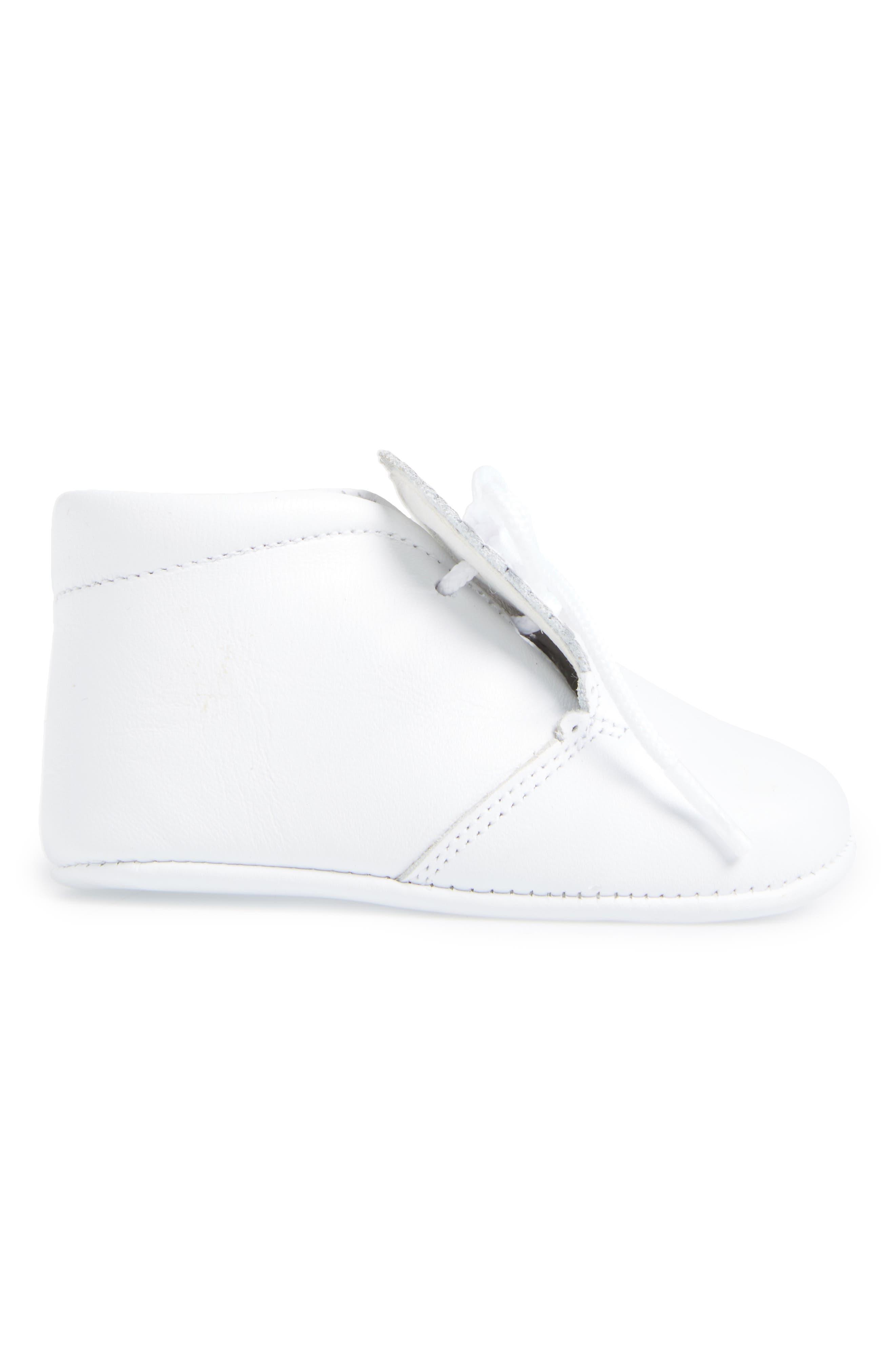 Crib Shoe,                             Alternate thumbnail 3, color,                             WHITE