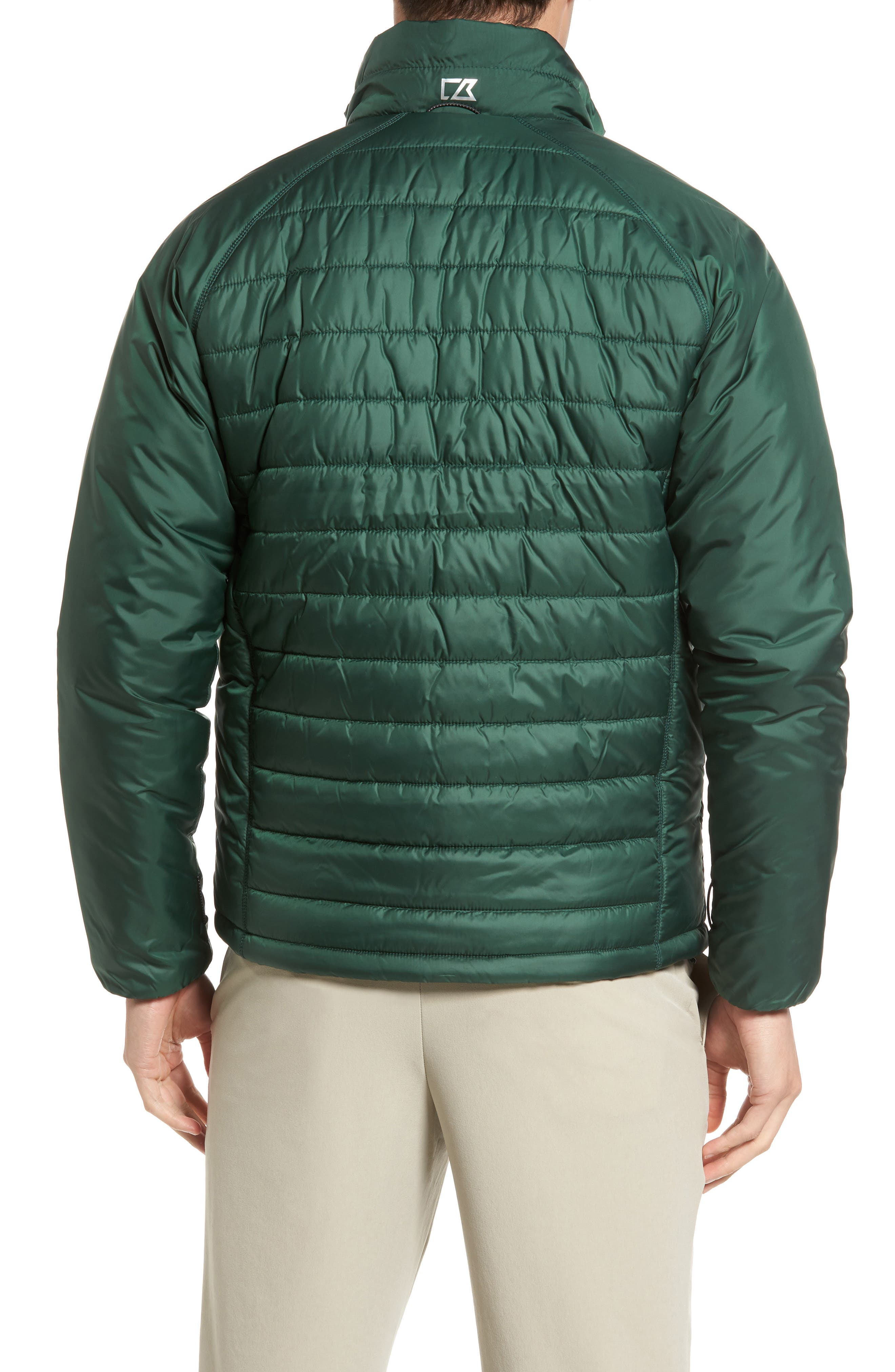 Barlow Pass Quilted Jacket,                             Alternate thumbnail 2, color,                             001