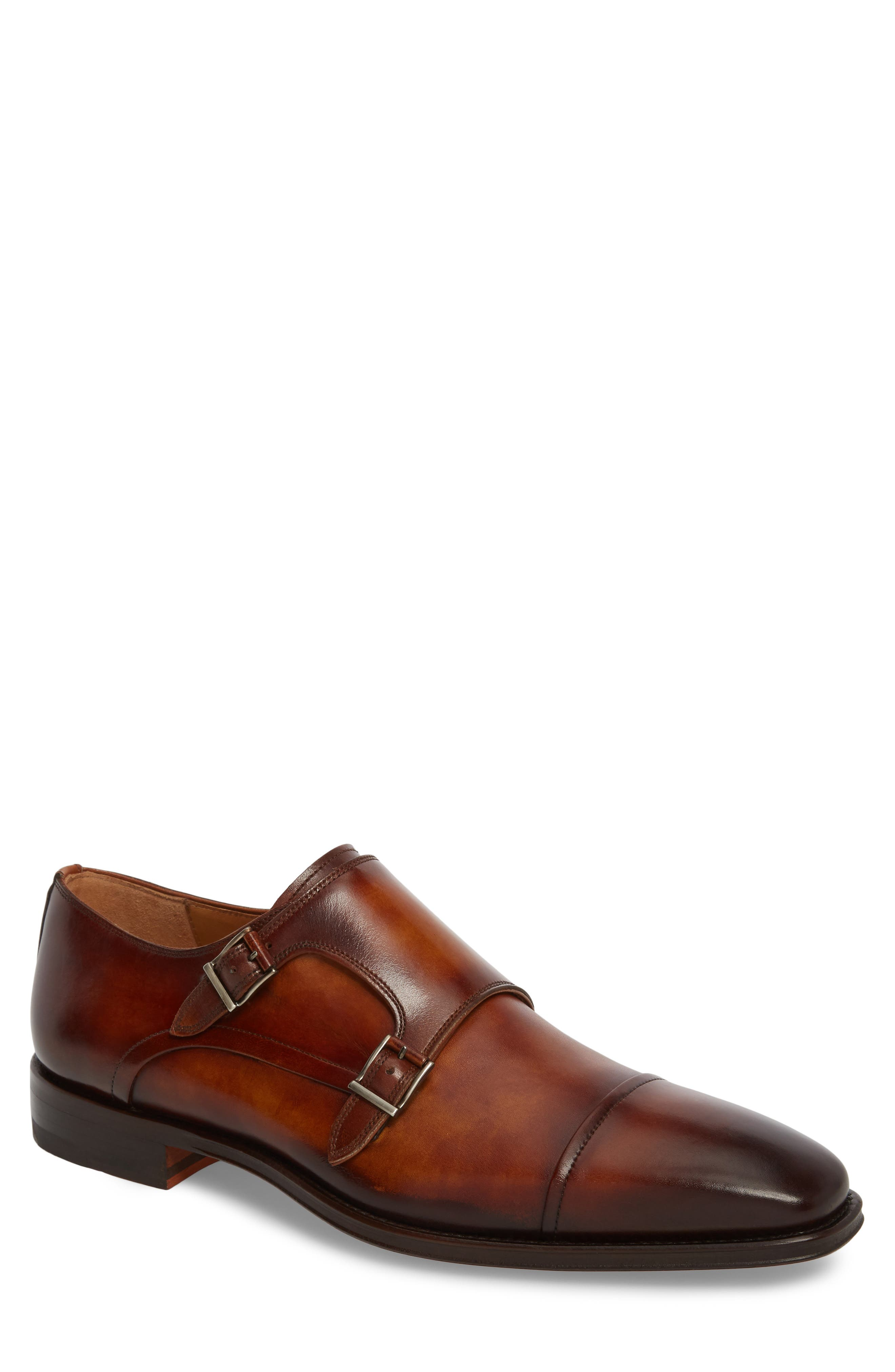 Silvio Double Monk Strap Shoe,                             Main thumbnail 1, color,                             230