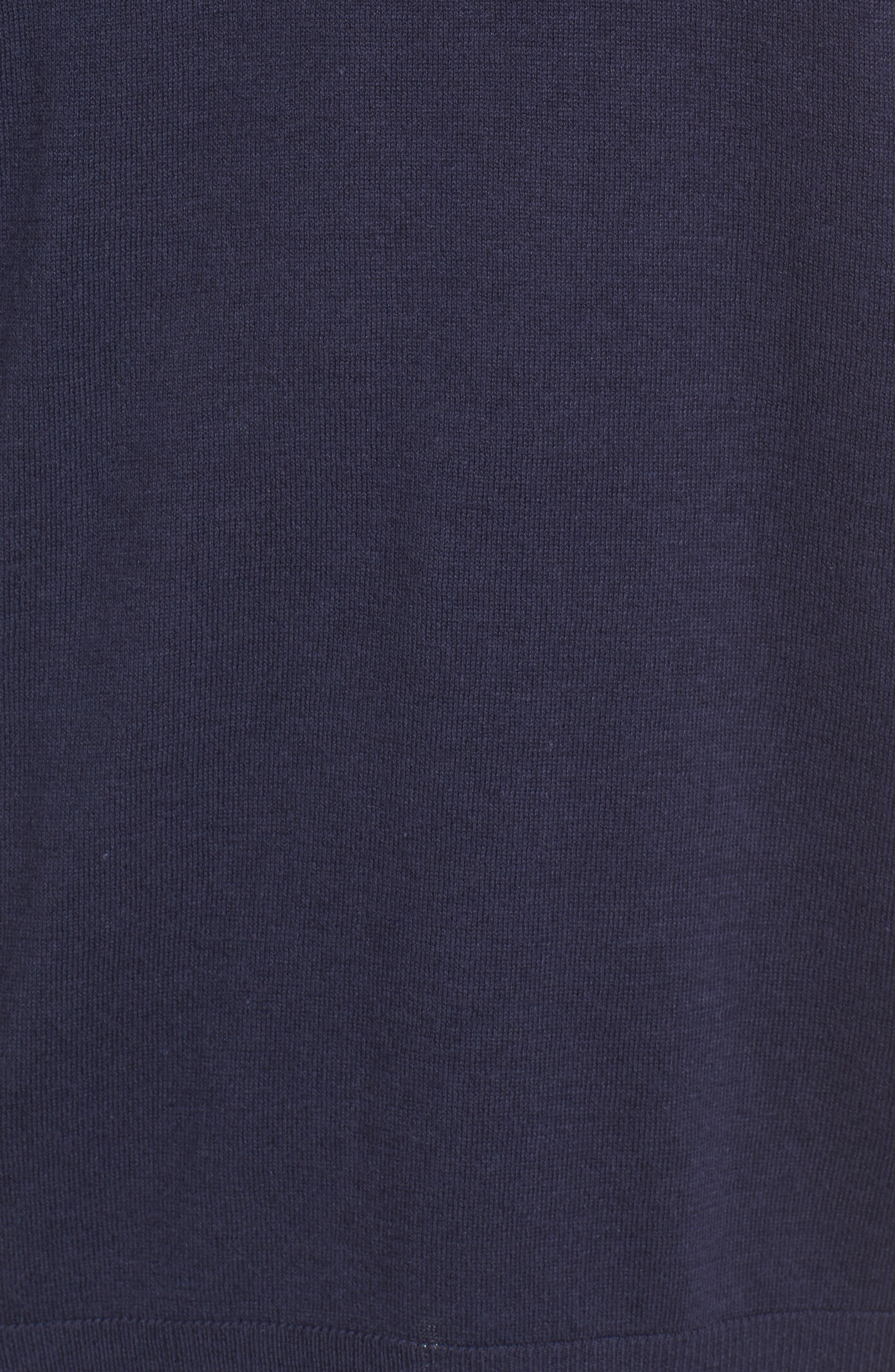 Poplin Bow Detail Sweater,                             Alternate thumbnail 10, color,