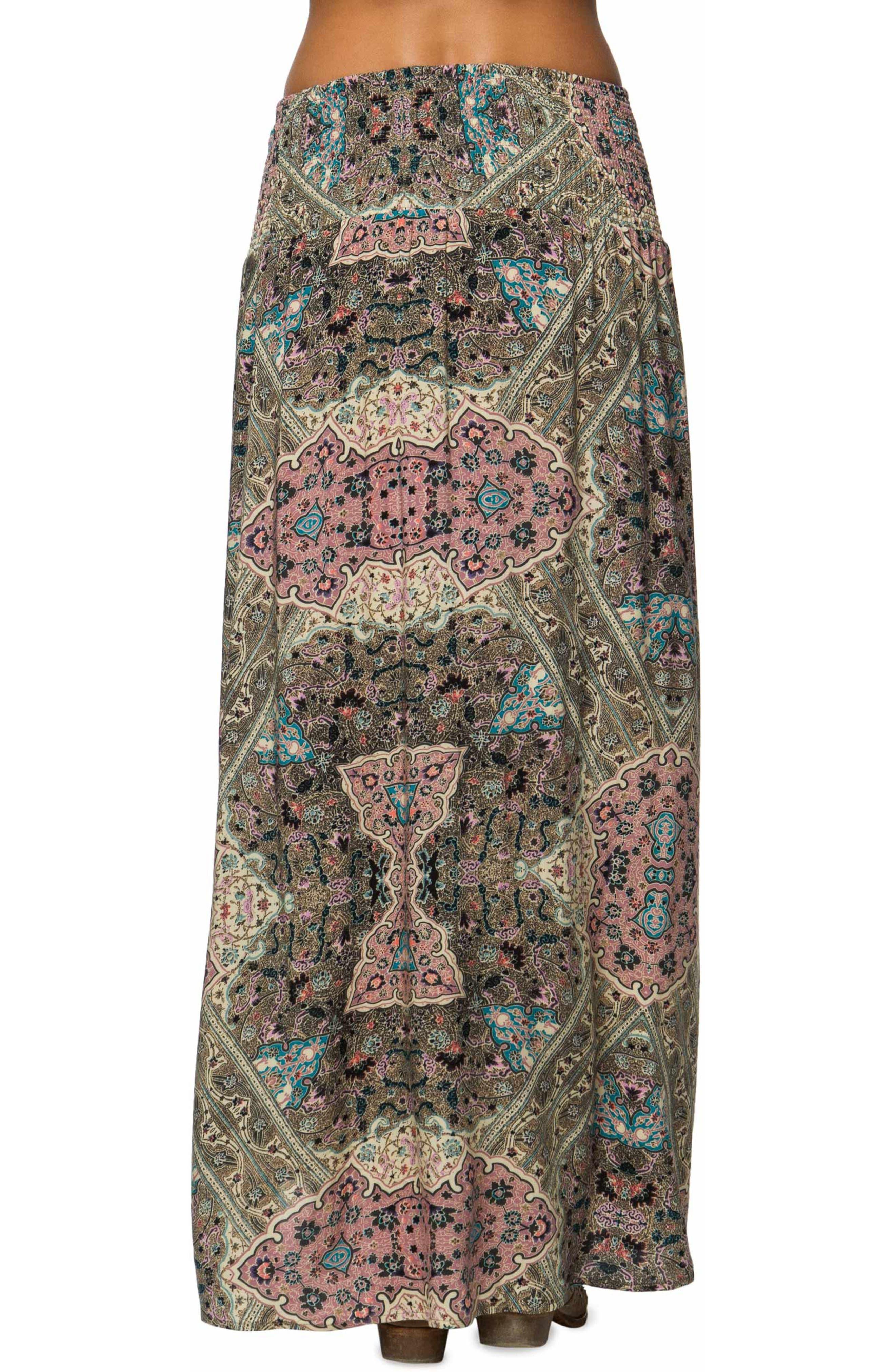 Tamarindo Woven Maxi Skirt,                             Alternate thumbnail 2, color,