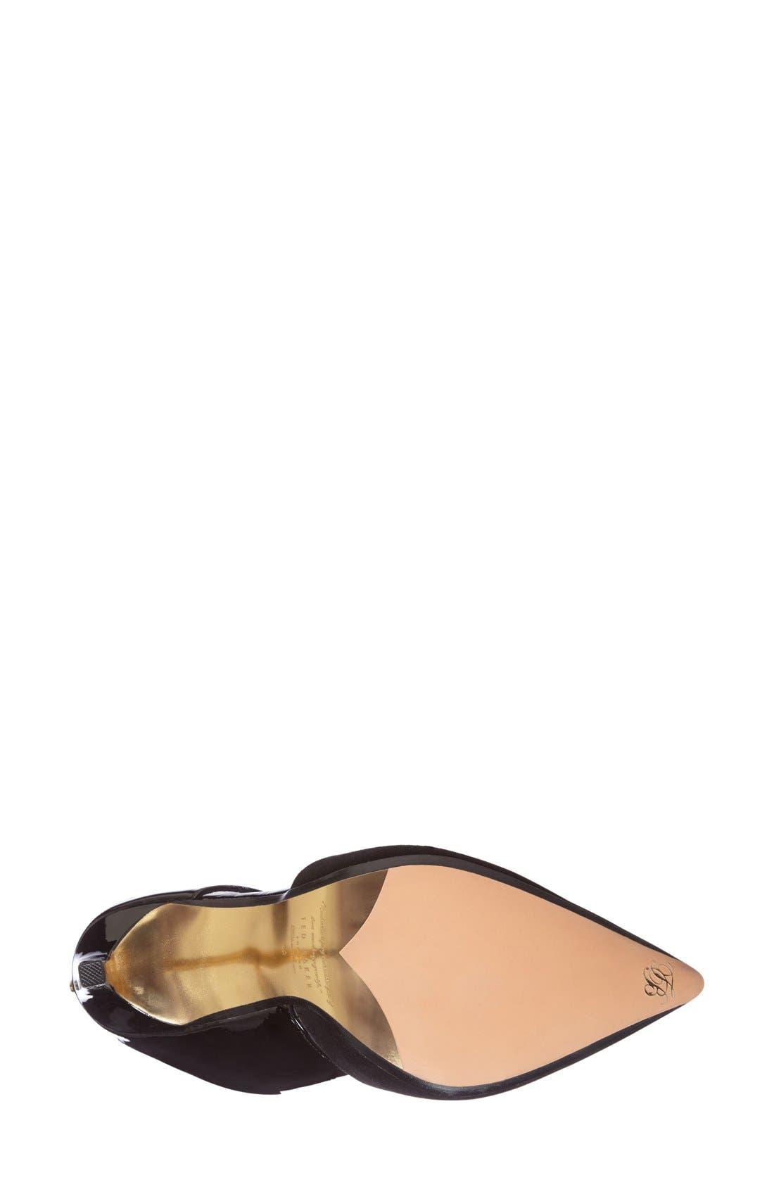 TED BAKER LONDON,                             'Amenoa' Cutout Pump,                             Alternate thumbnail 4, color,                             250