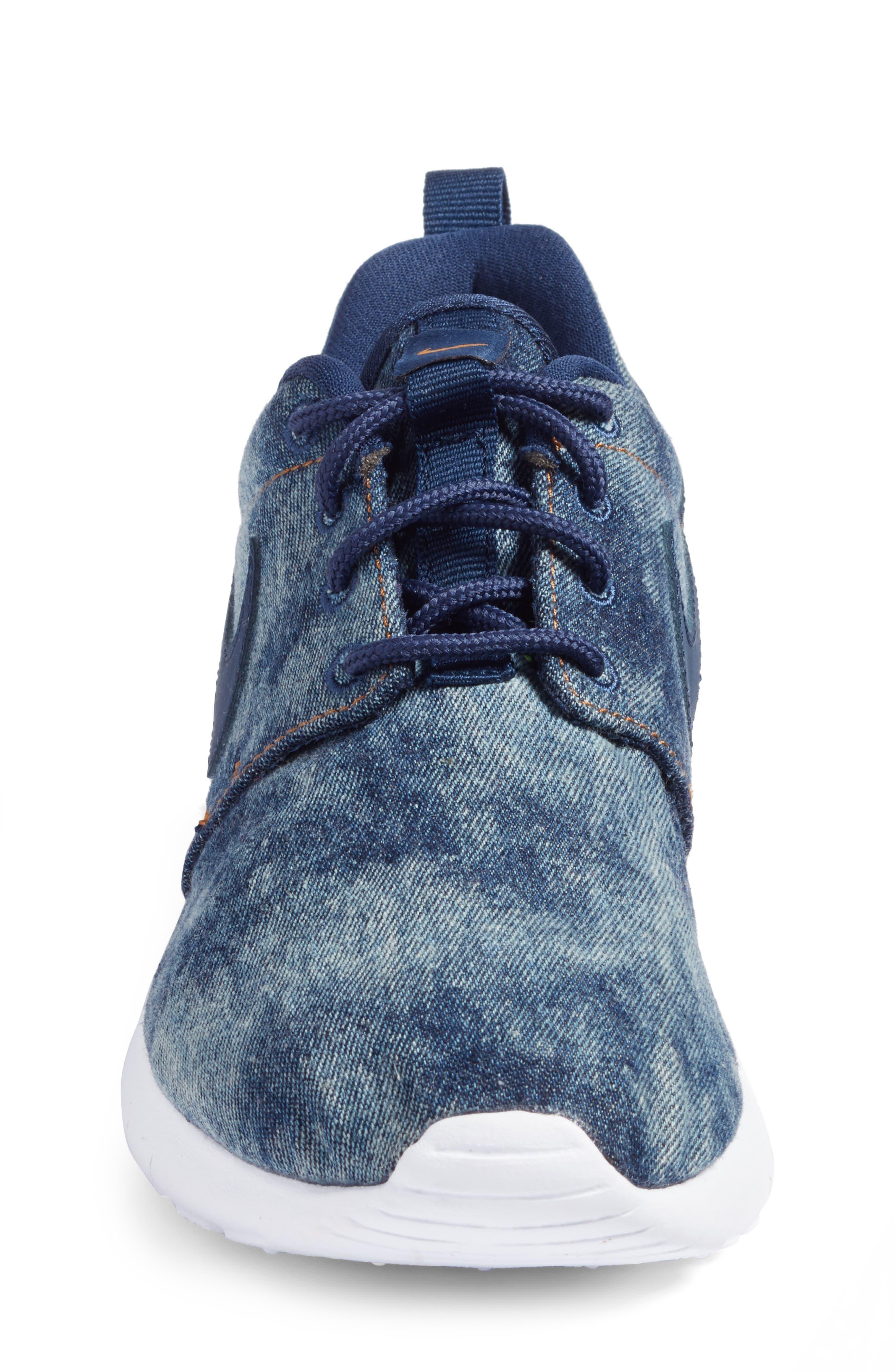 Roshe One SE Sneaker,                             Alternate thumbnail 4, color,                             400