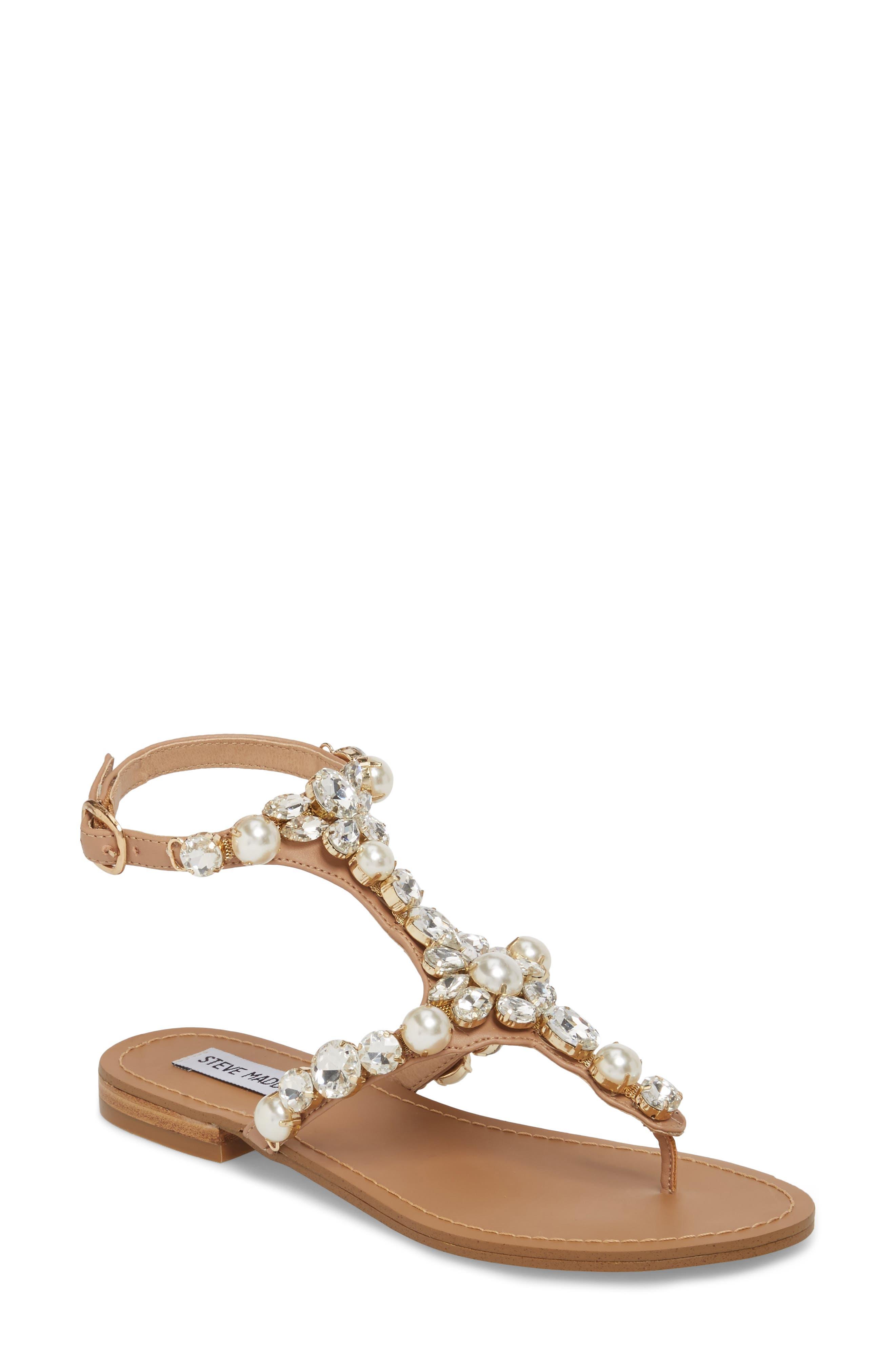 Chantel Crystal Embellished Sandal,                             Main thumbnail 2, color,