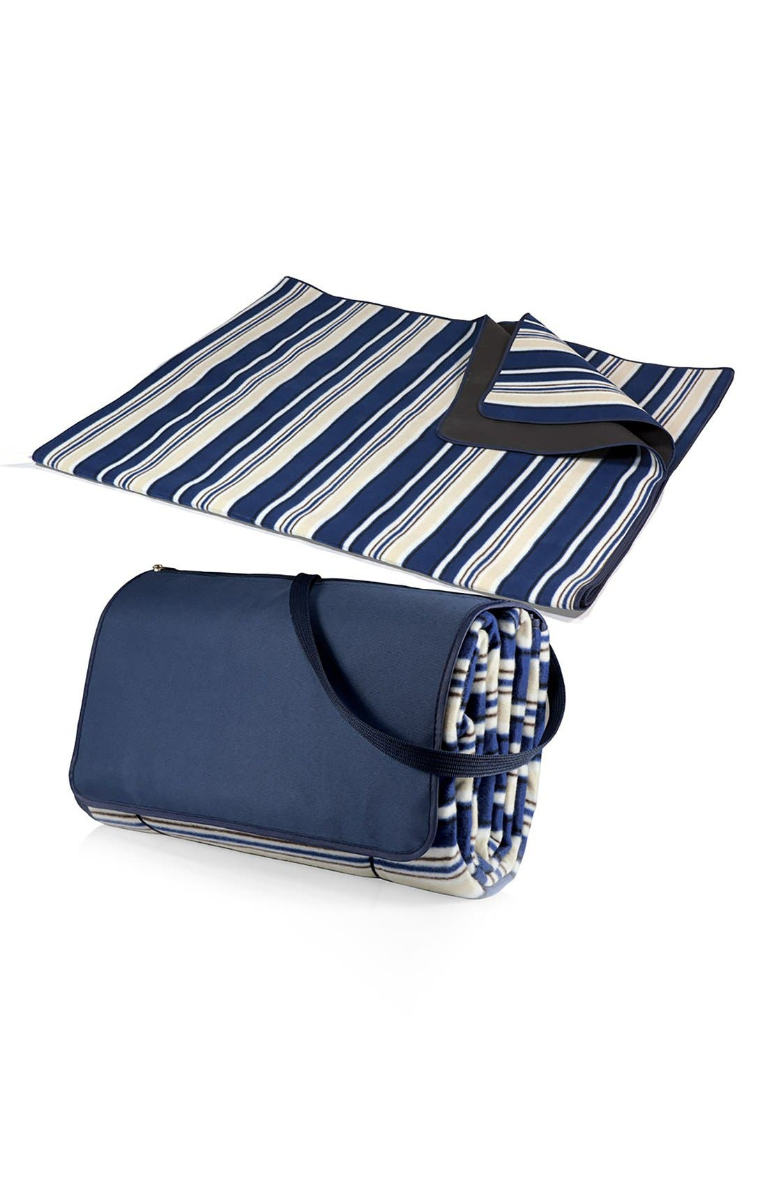 'XL' Blanket Tote,                             Alternate thumbnail 3, color,                             BLUE