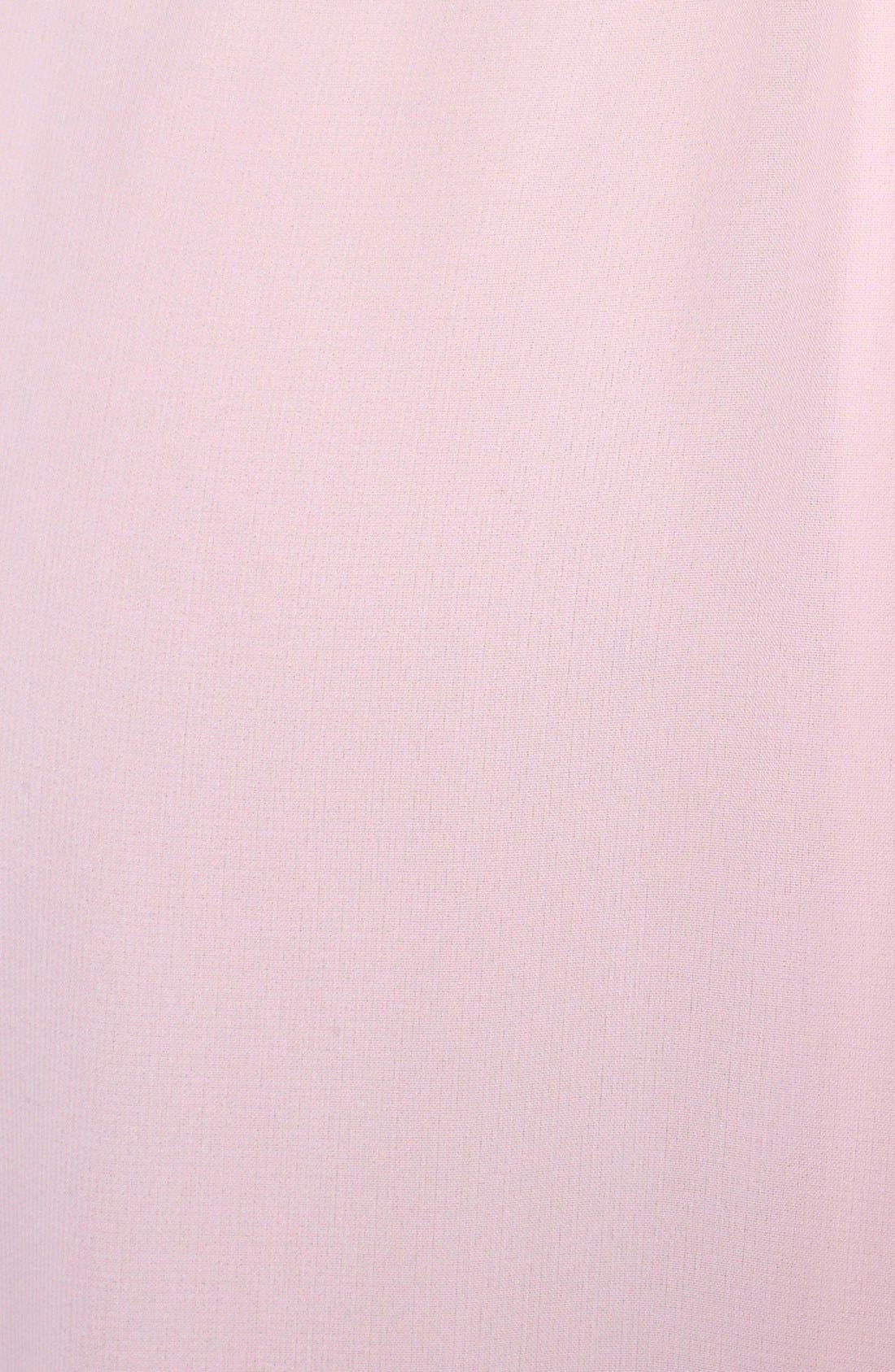 'Jordan' Open Back Chiffon Halter Gown,                             Alternate thumbnail 4, color,                             902