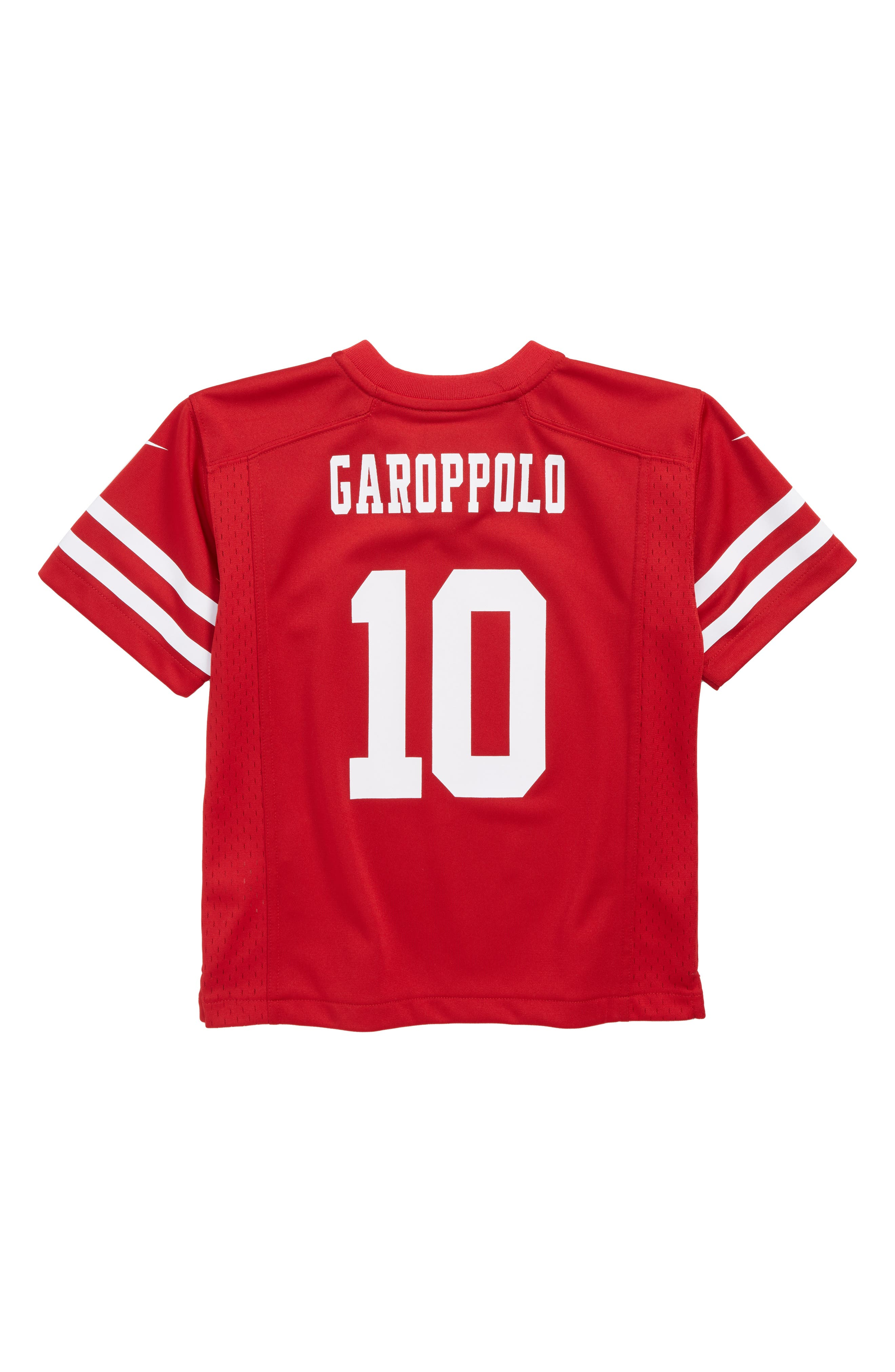 NFL San Francisco 49ers Jimmy Garoppolo Jersey,                             Alternate thumbnail 2, color,                             RED