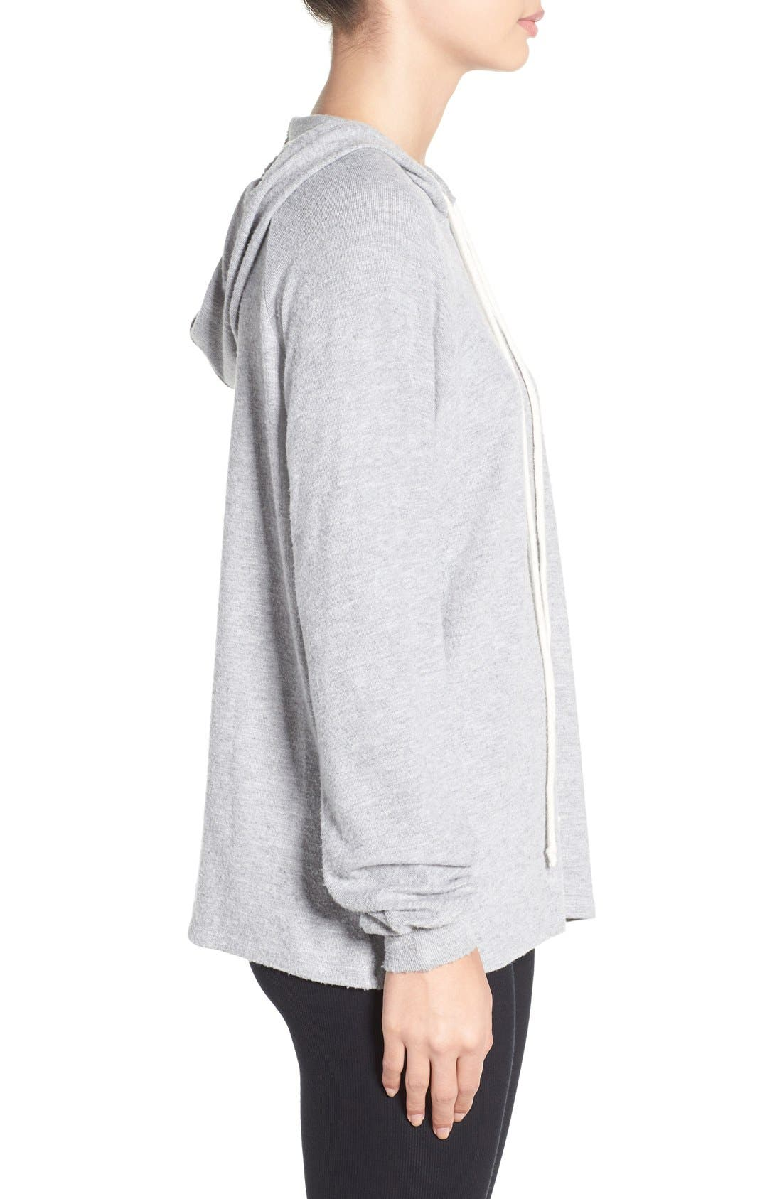'Trevor' Cotton Blend Hoodie,                             Alternate thumbnail 9, color,