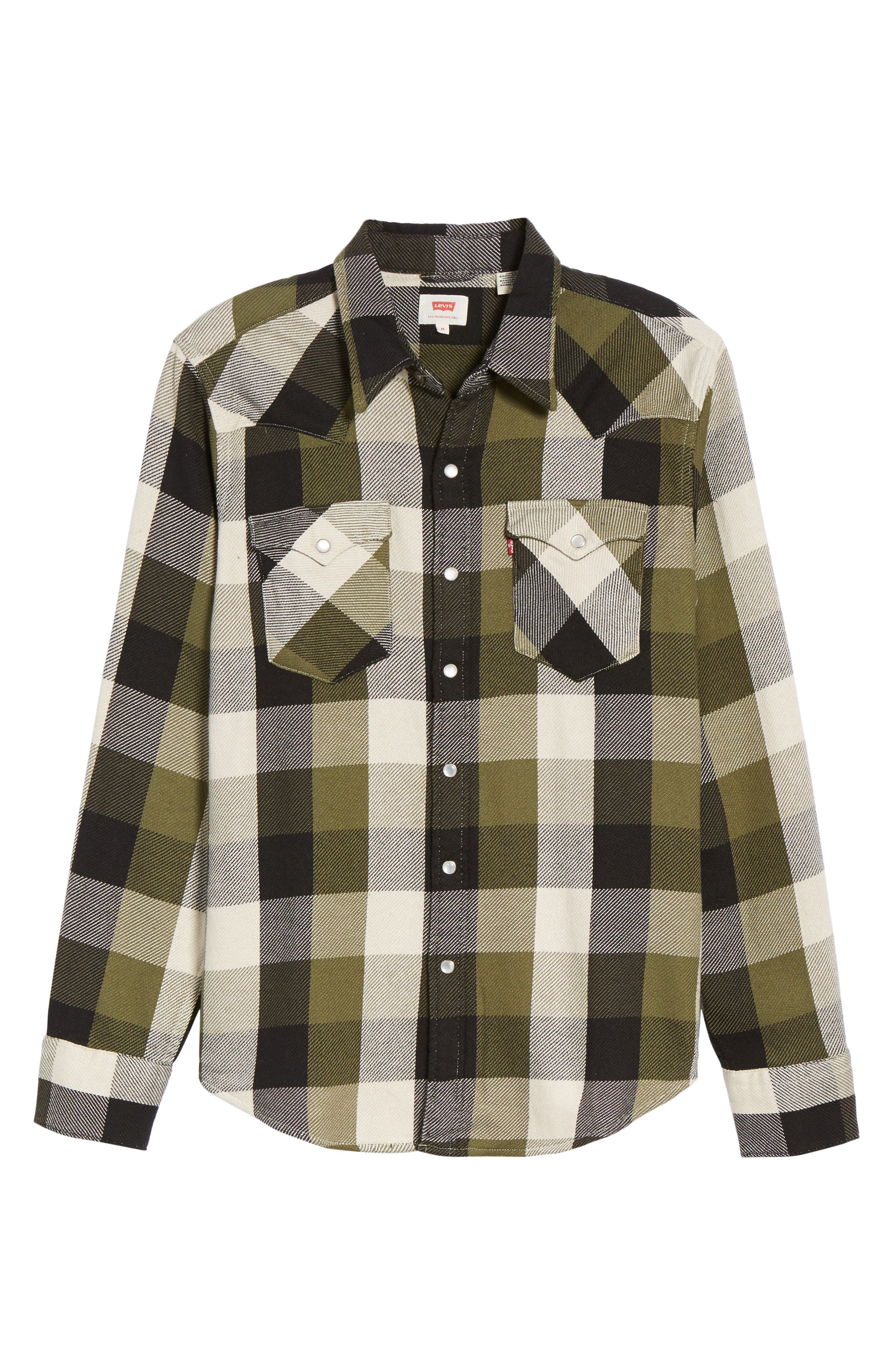 'Barstow' Denim Western Shirt,                             Alternate thumbnail 31, color,