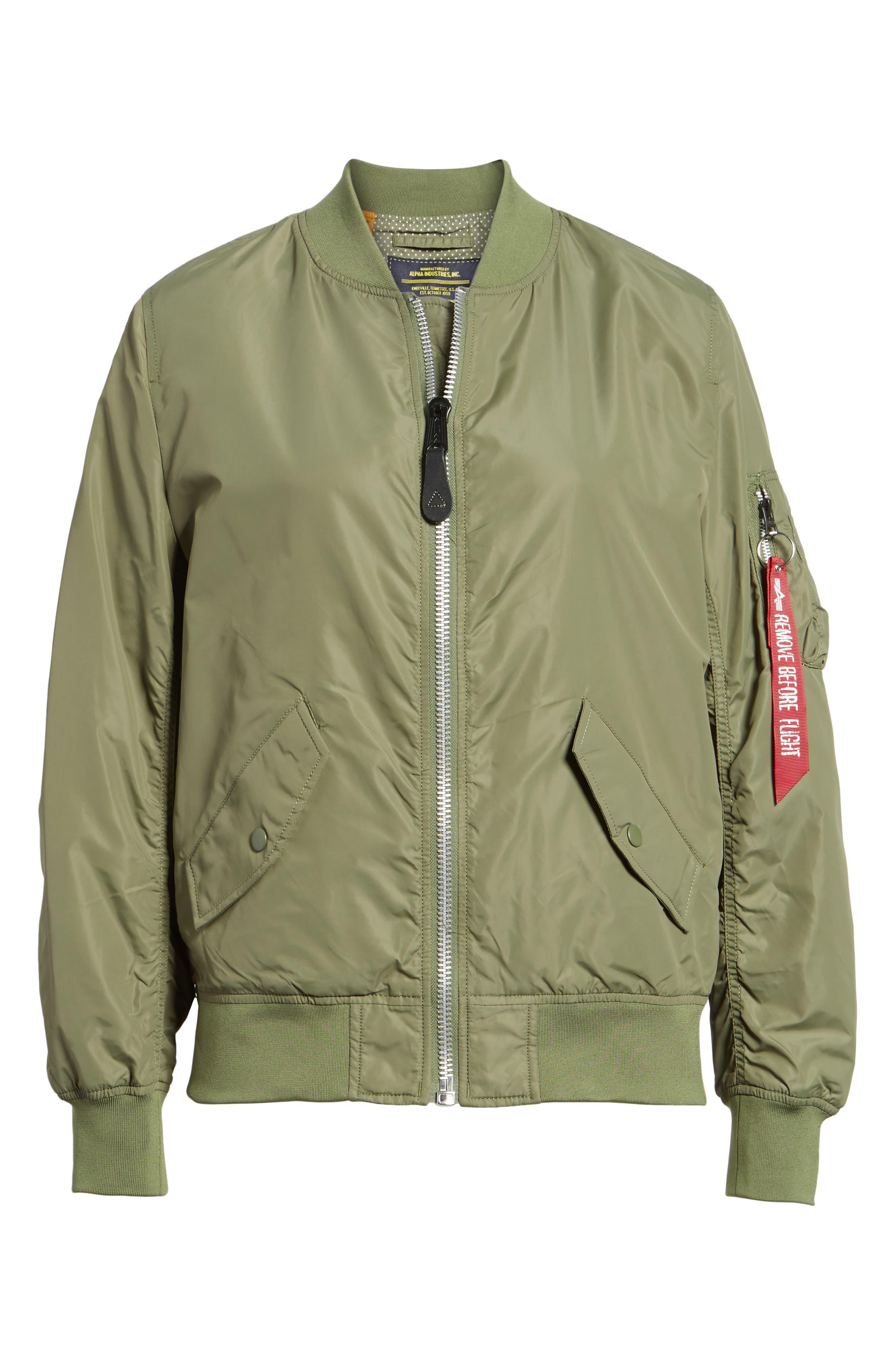 L-2B Scout Water Resistant Flight Jacket,                             Alternate thumbnail 14, color,