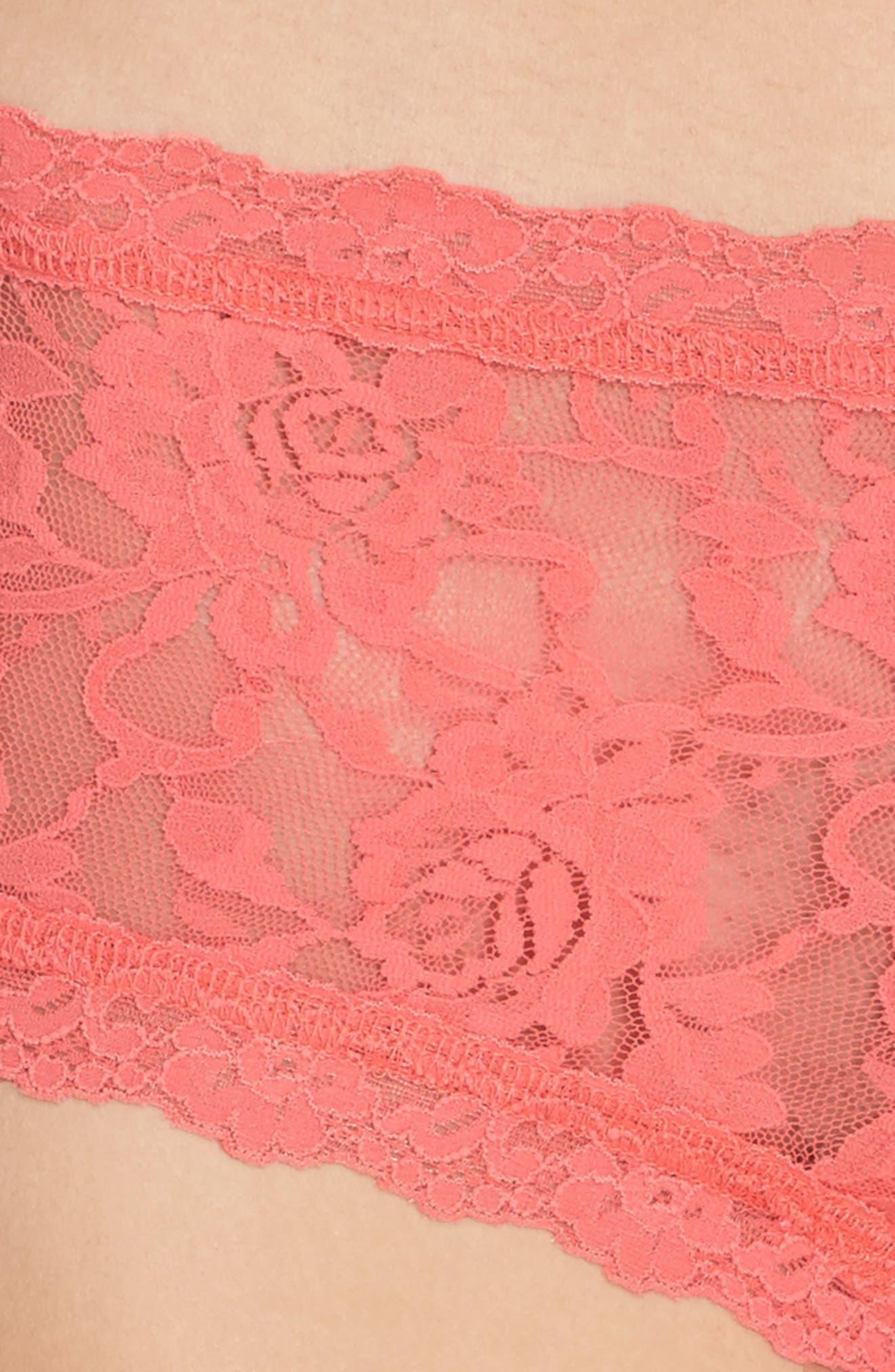 'Signature Lace' Boyshorts,                             Alternate thumbnail 379, color,