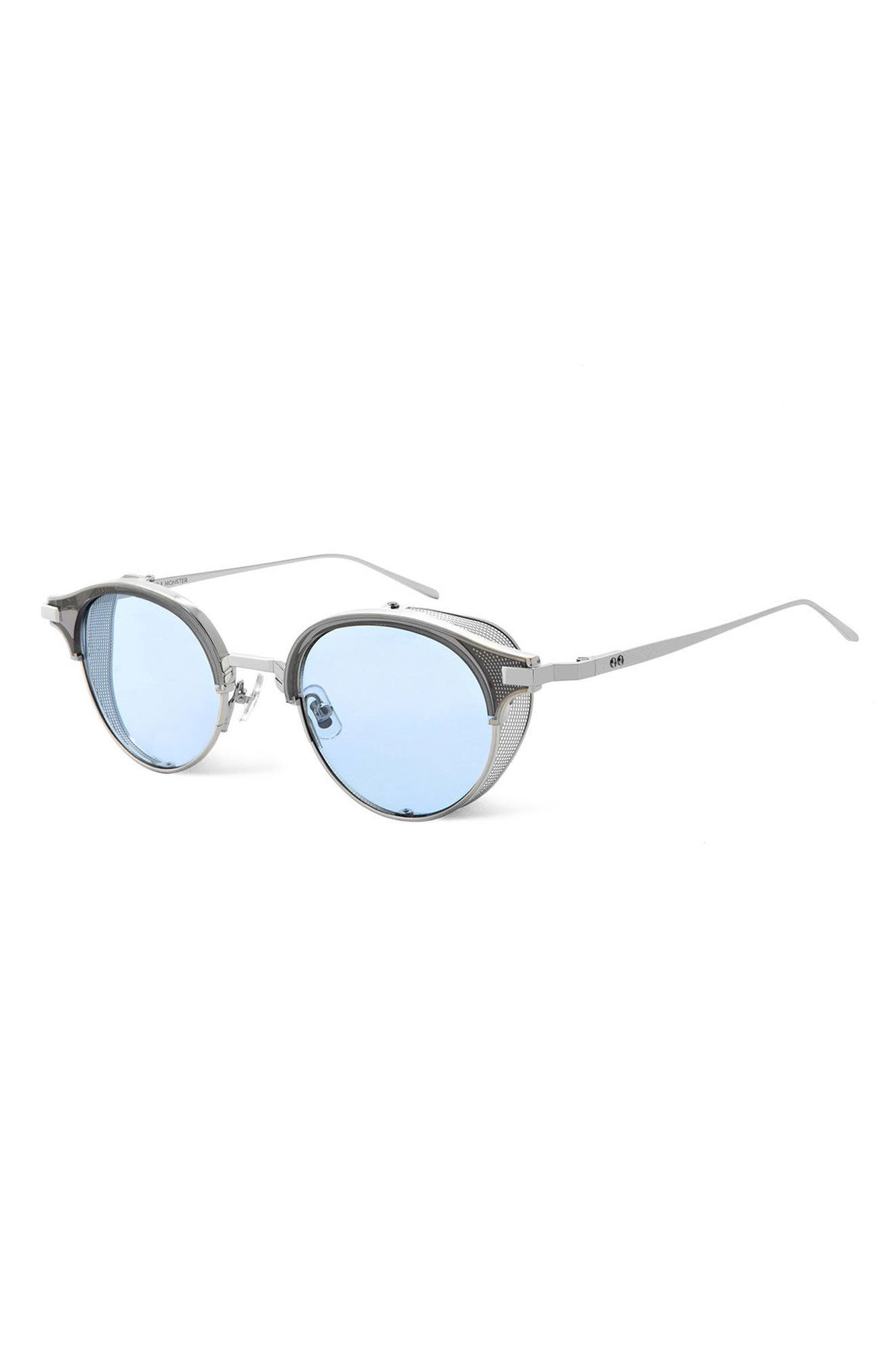 GENTLE MONSTER,                             Double Erok 50mm Cat Eye Sunglasses,                             Alternate thumbnail 3, color,                             040