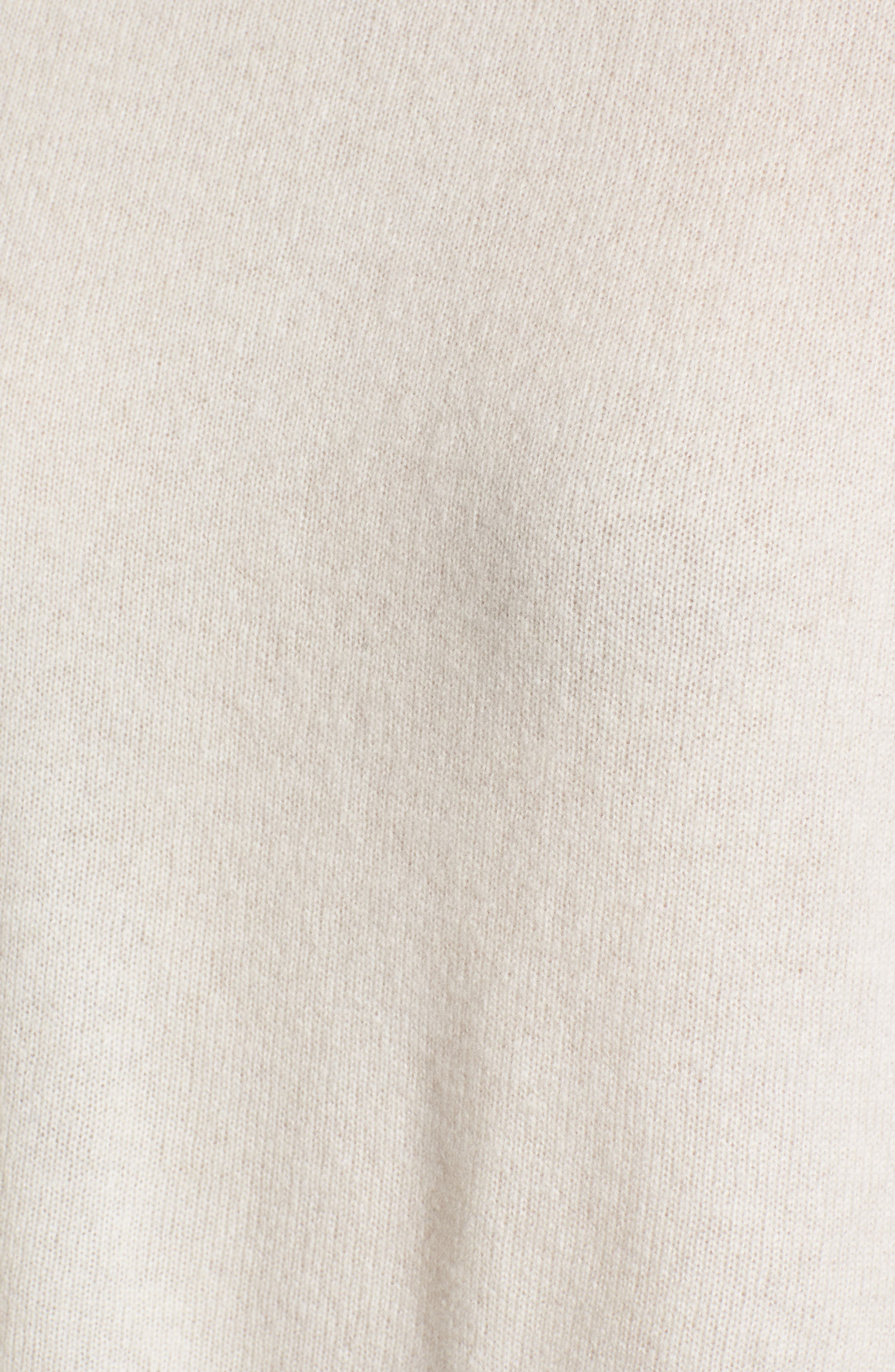 Button Detail Cashmere Sweater,                             Alternate thumbnail 5, color,                             270