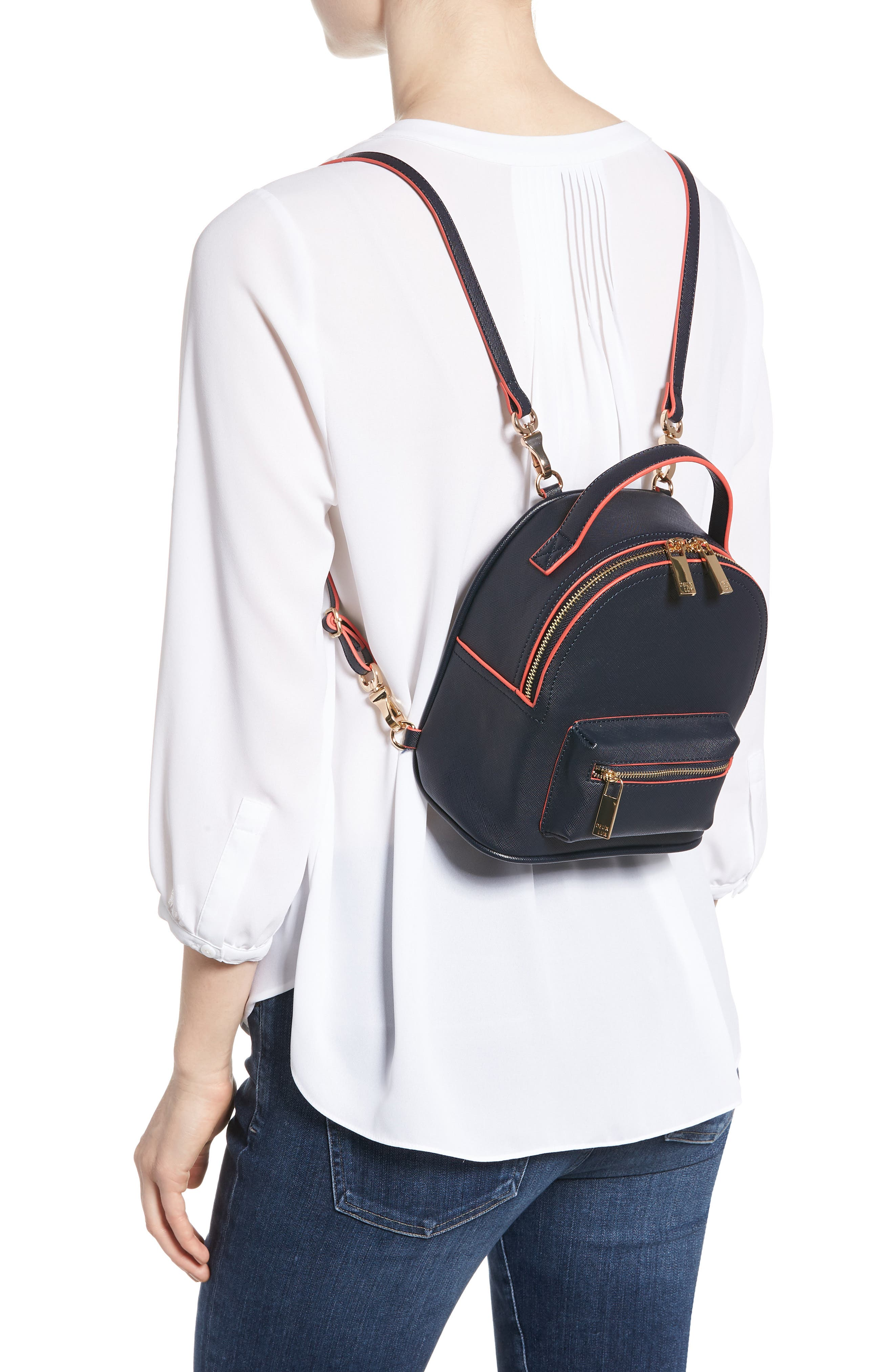 Annabelle Mini Faux Leather Backpack,                             Alternate thumbnail 2, color,                             490