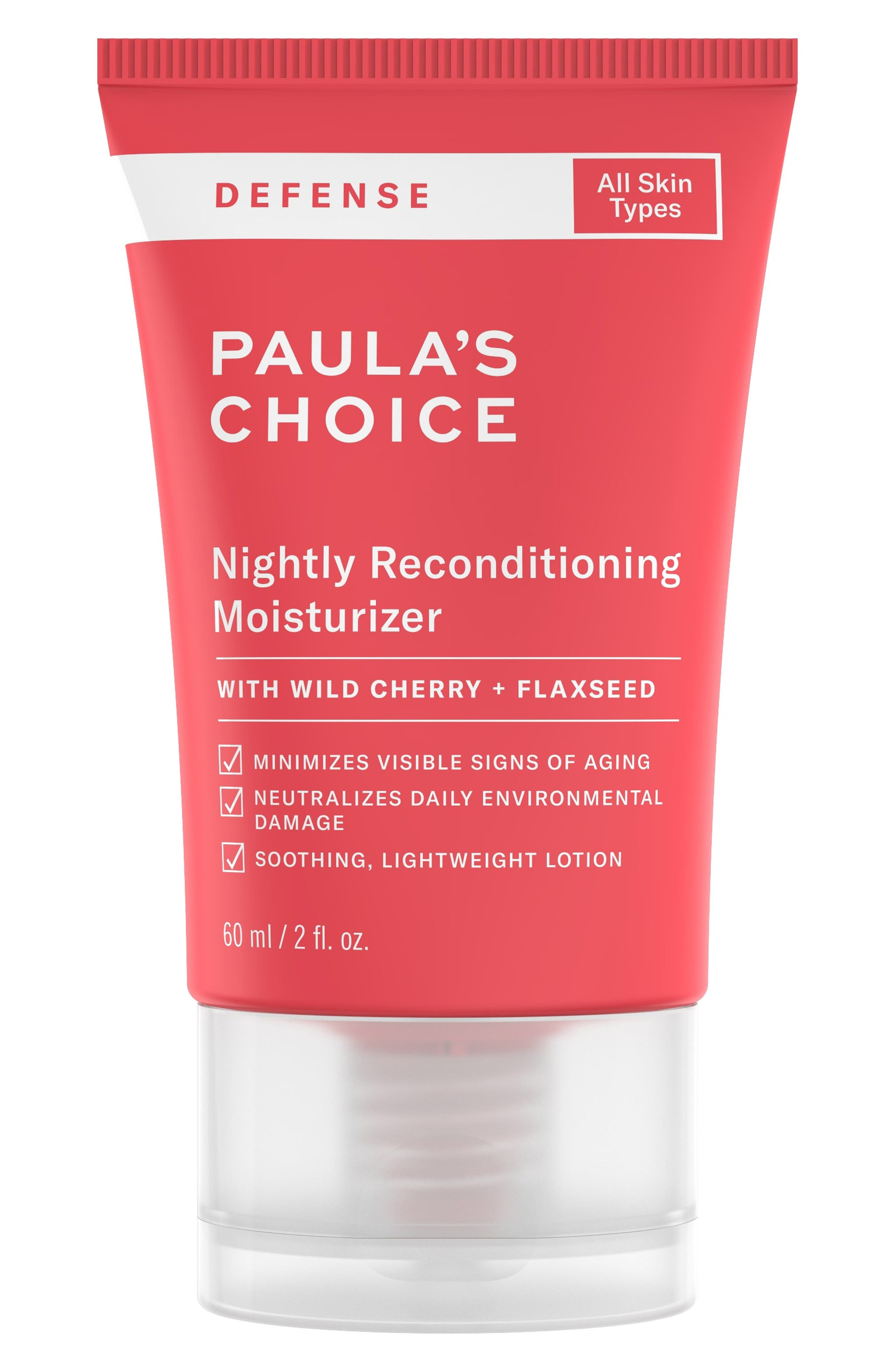 Nightly Reconditioning Moisturizer,                             Main thumbnail 1, color,                             000