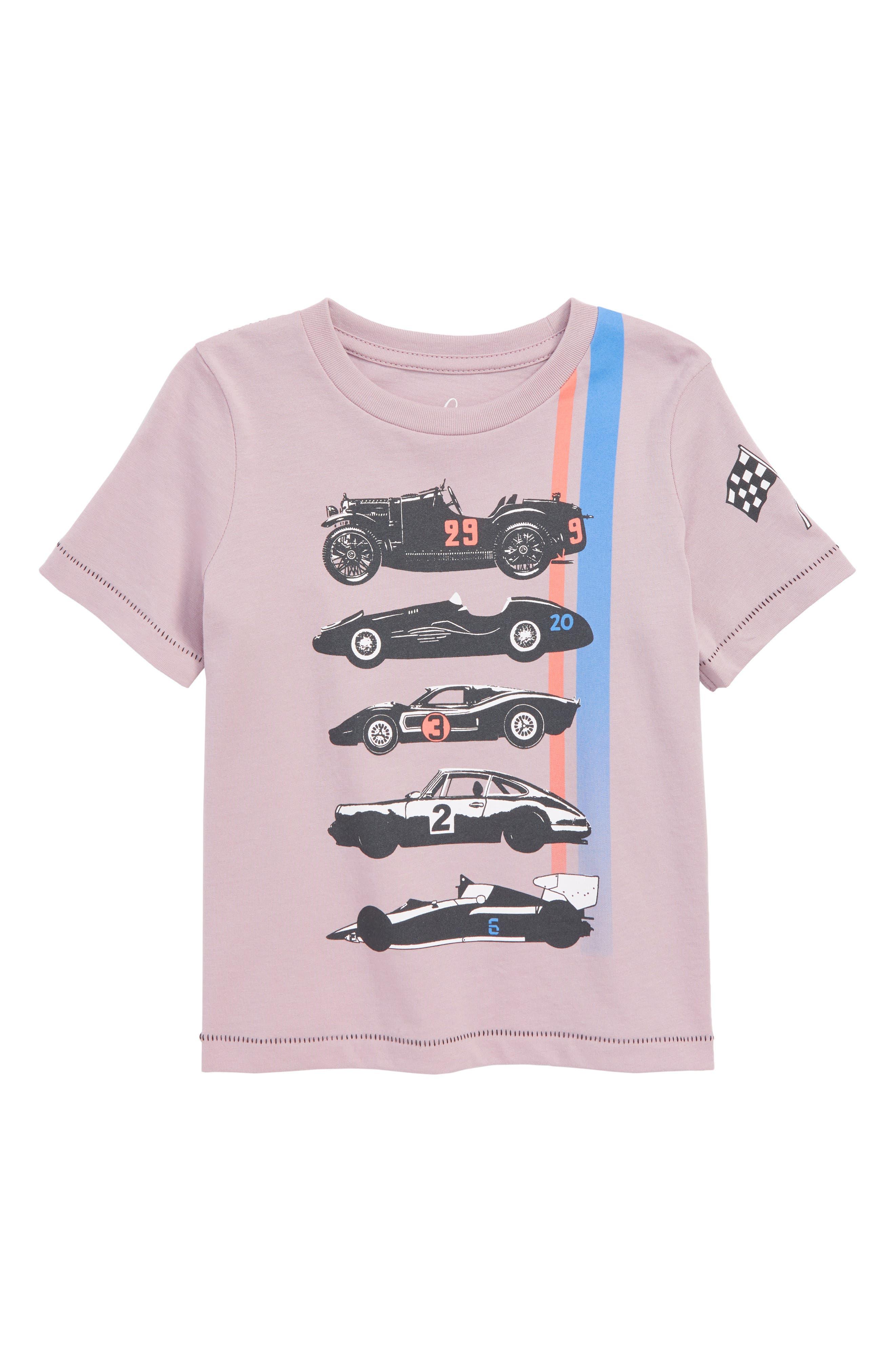 Race Car Graphic T-Shirt,                         Main,                         color, 515