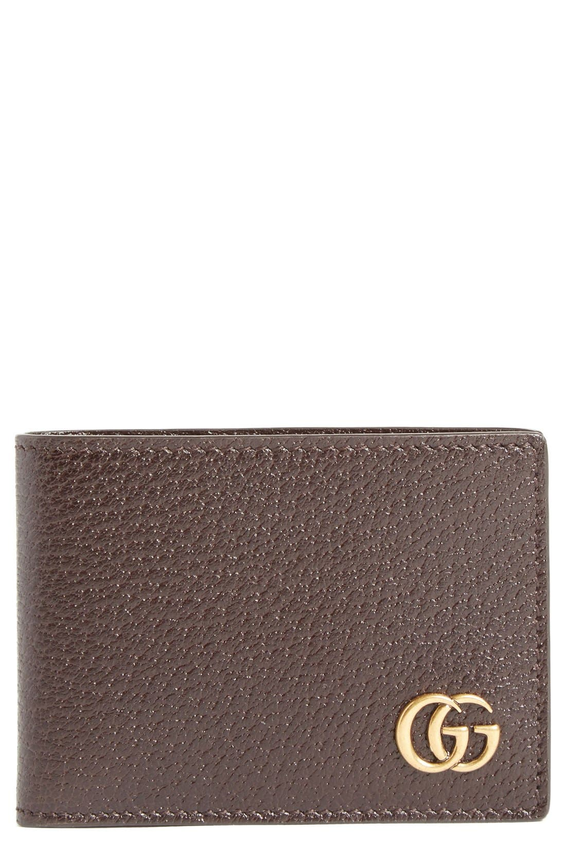 Marmont Leather Wallet,                             Main thumbnail 2, color,