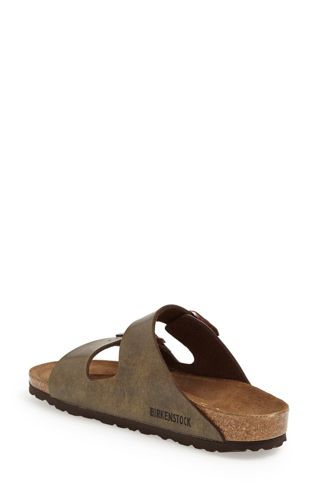 'Arizona Birko-Flor' Soft Footbed Sandal,                             Alternate thumbnail 6, color,