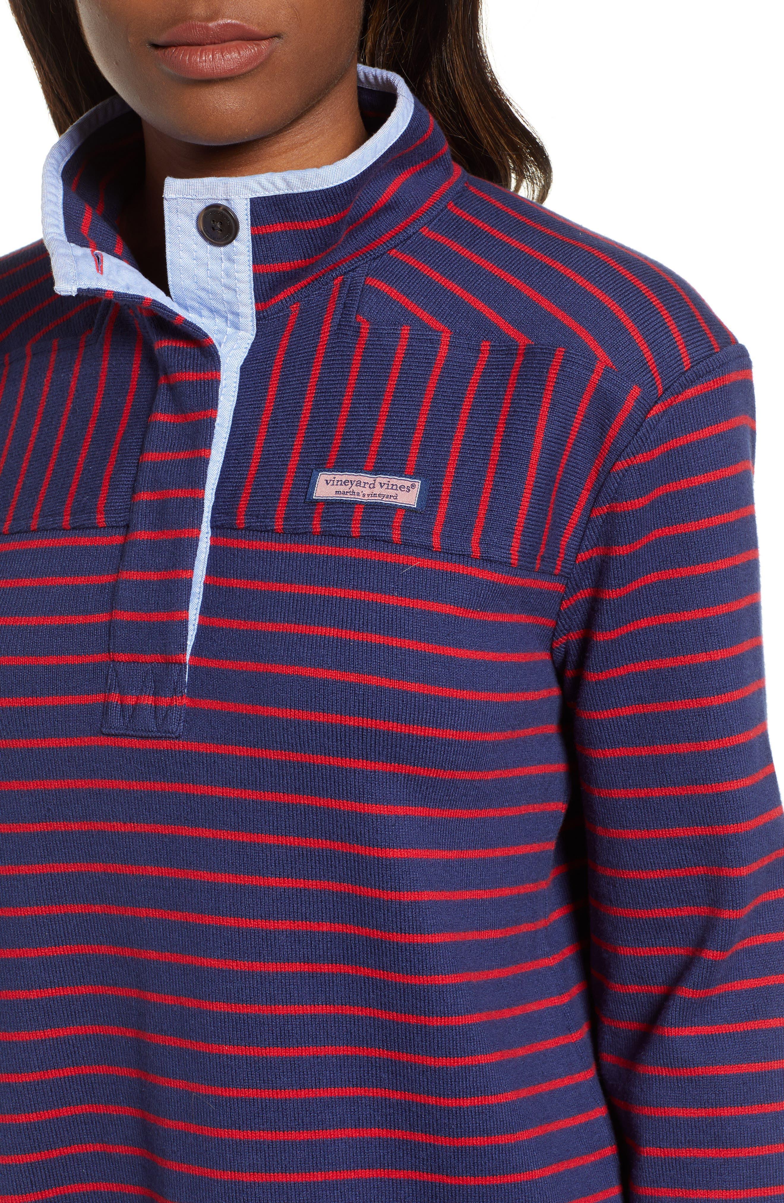 Shep Stripe Top,                             Alternate thumbnail 4, color,                             476