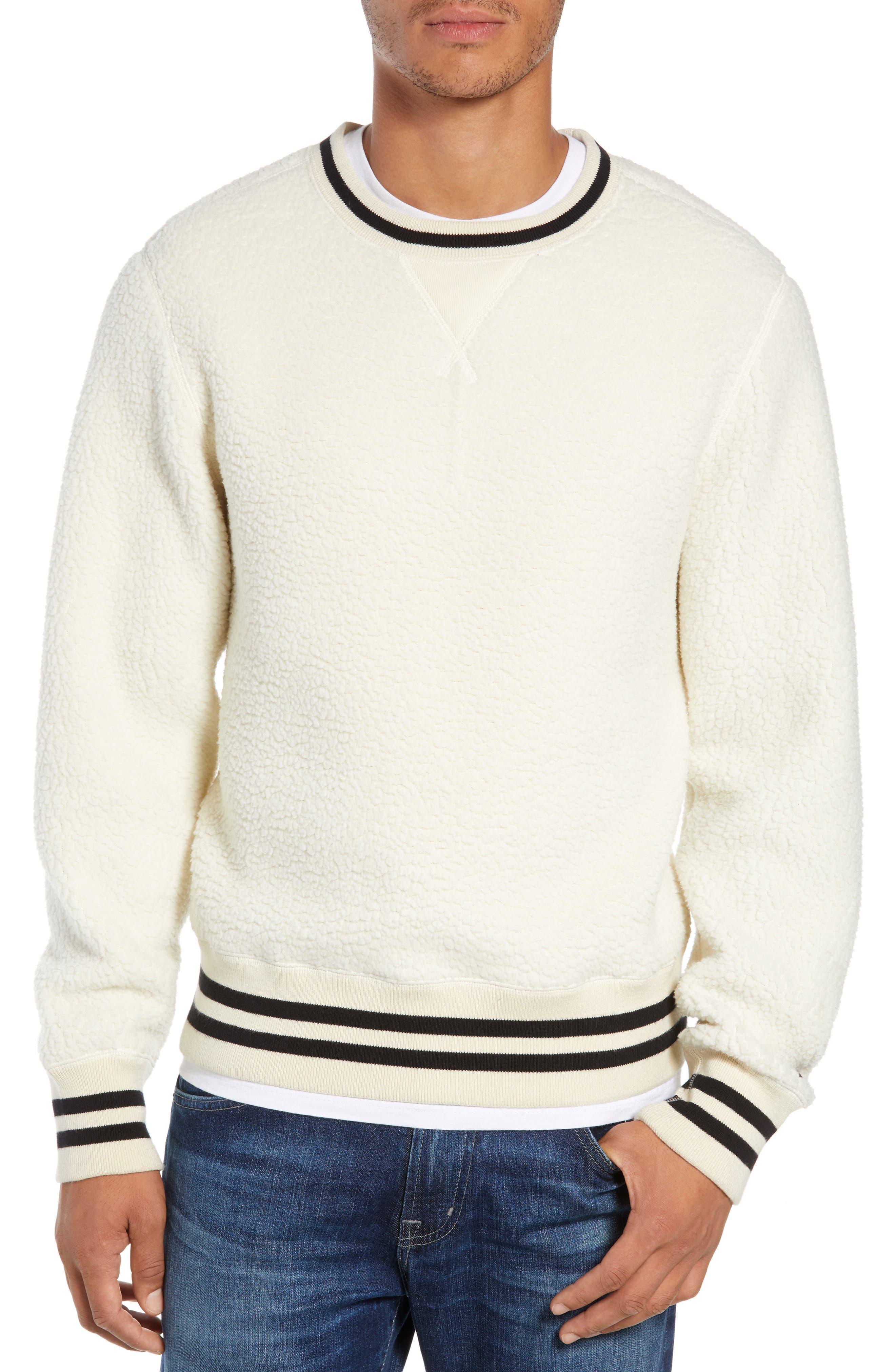 + Champion Fleece Crewneck Sweatshirt,                             Main thumbnail 1, color,                             900