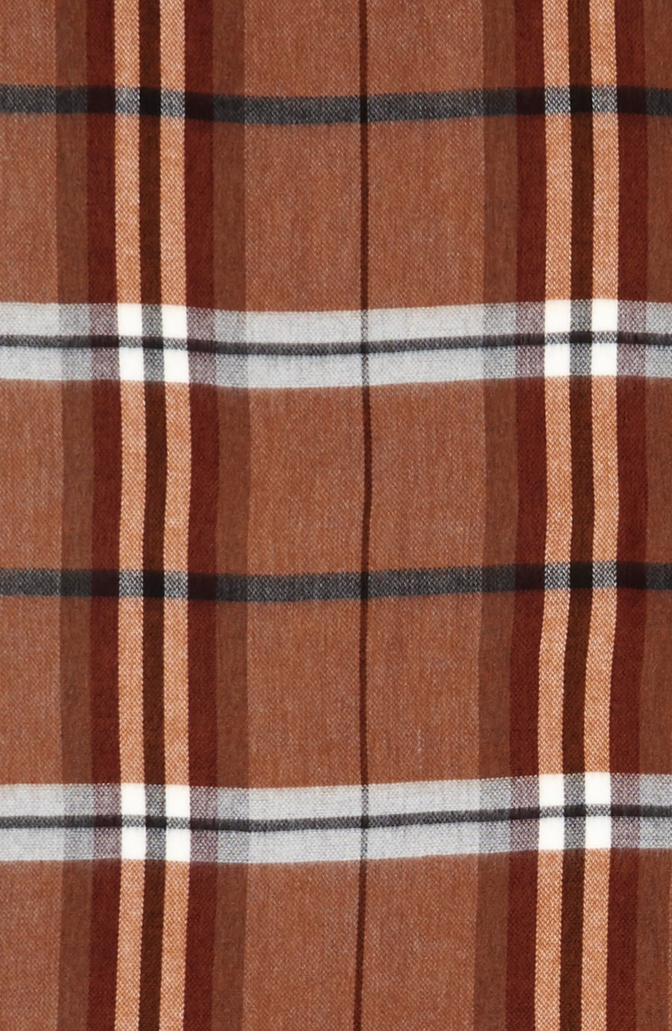 Plaid Blanket Scarf,                             Alternate thumbnail 3, color,                             201
