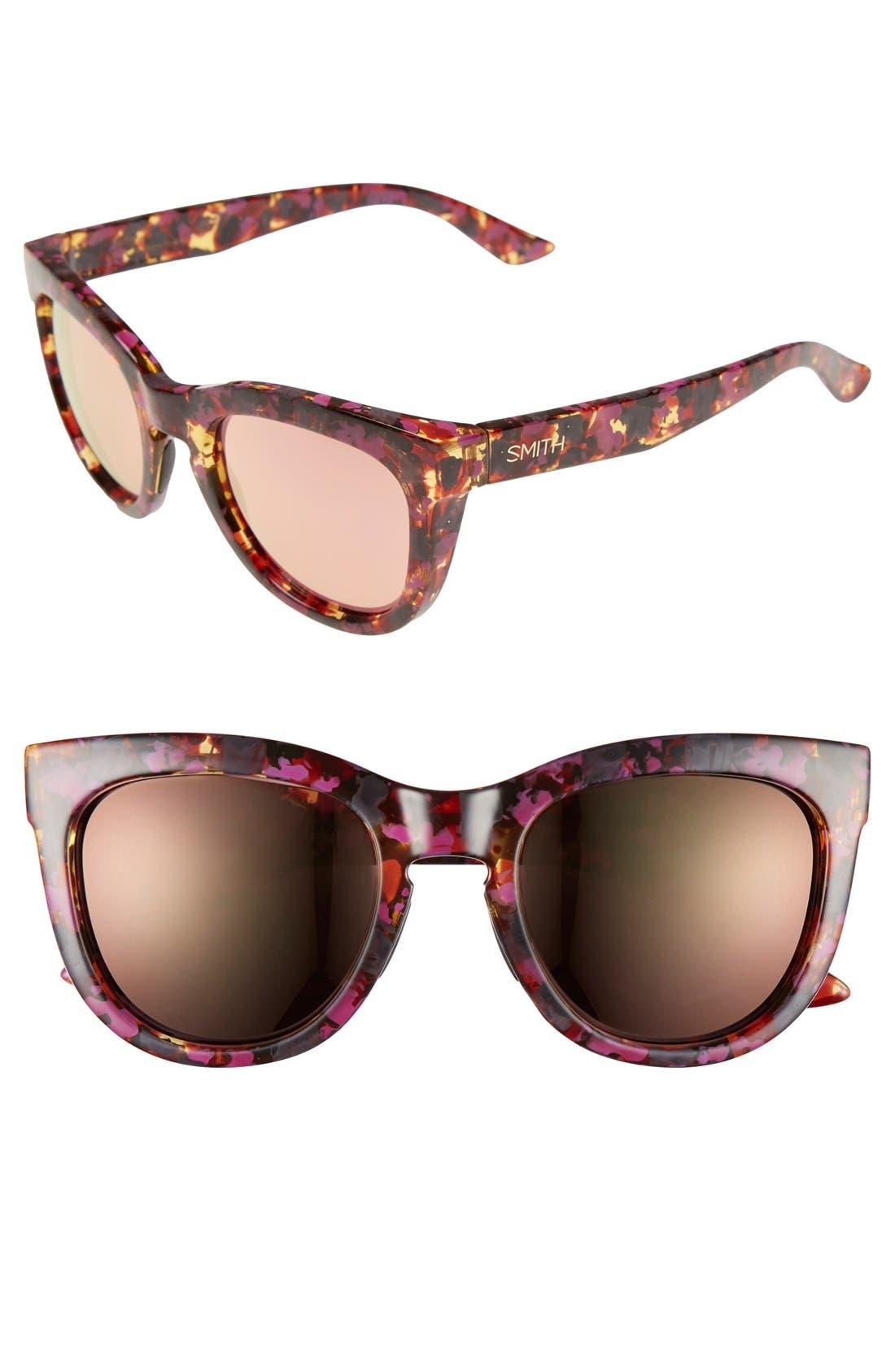 'Sidney' 52mm Sunglasses,                             Main thumbnail 2, color,