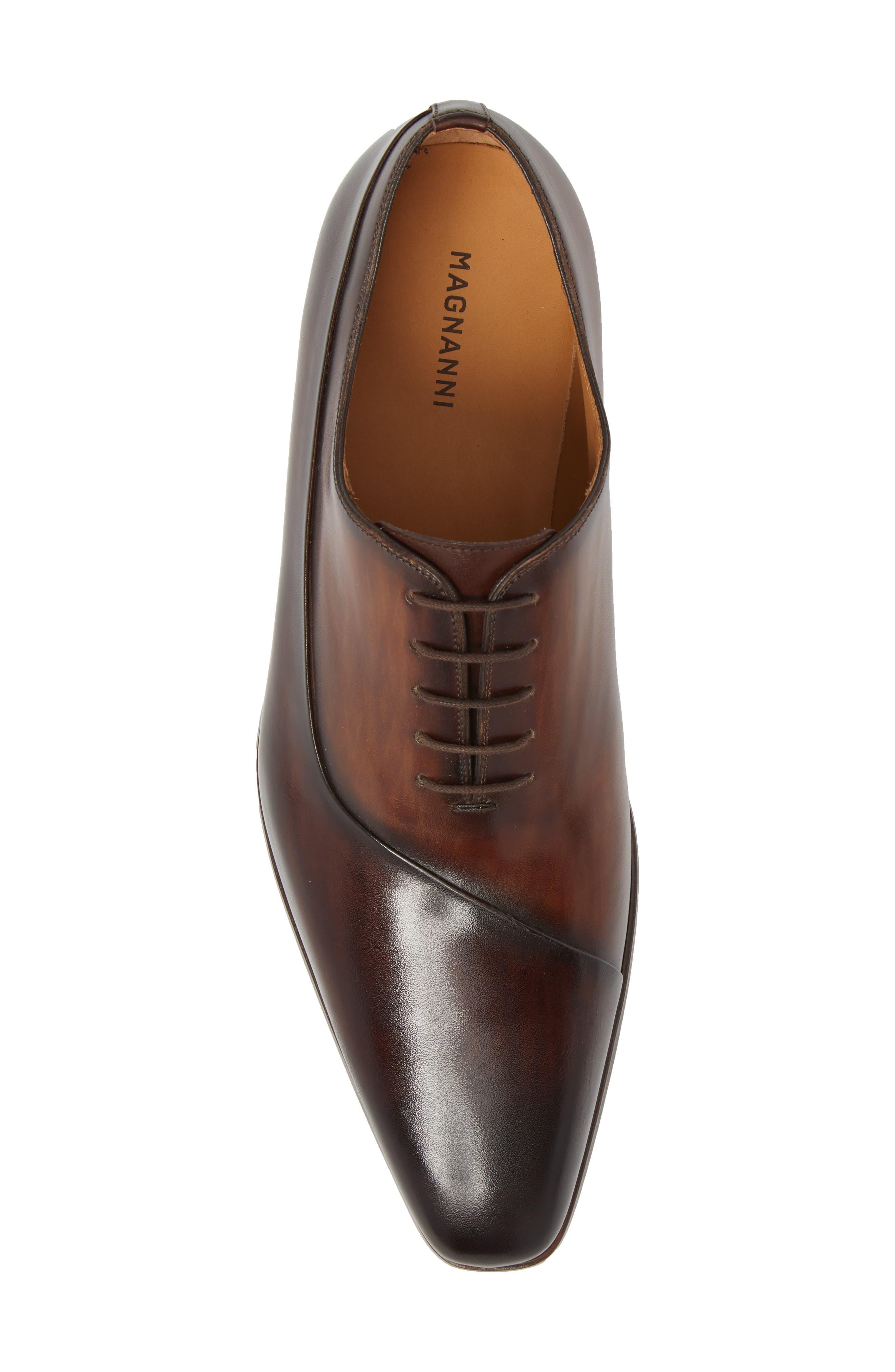 Cristiano Asymmetrical Whole Cut Shoe,                             Alternate thumbnail 5, color,                             200