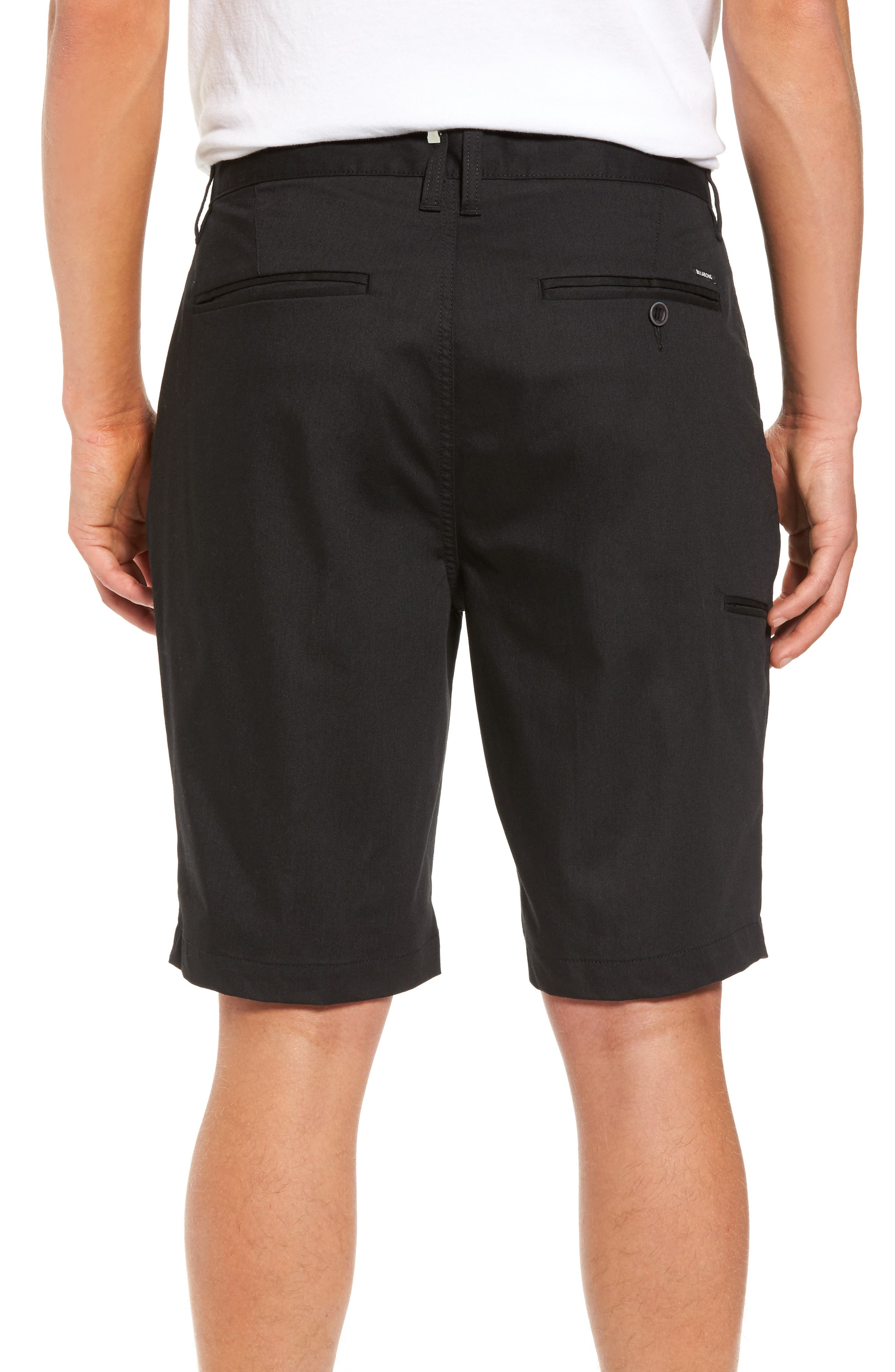 Carter Stretch Twill Shorts,                             Alternate thumbnail 2, color,                             002