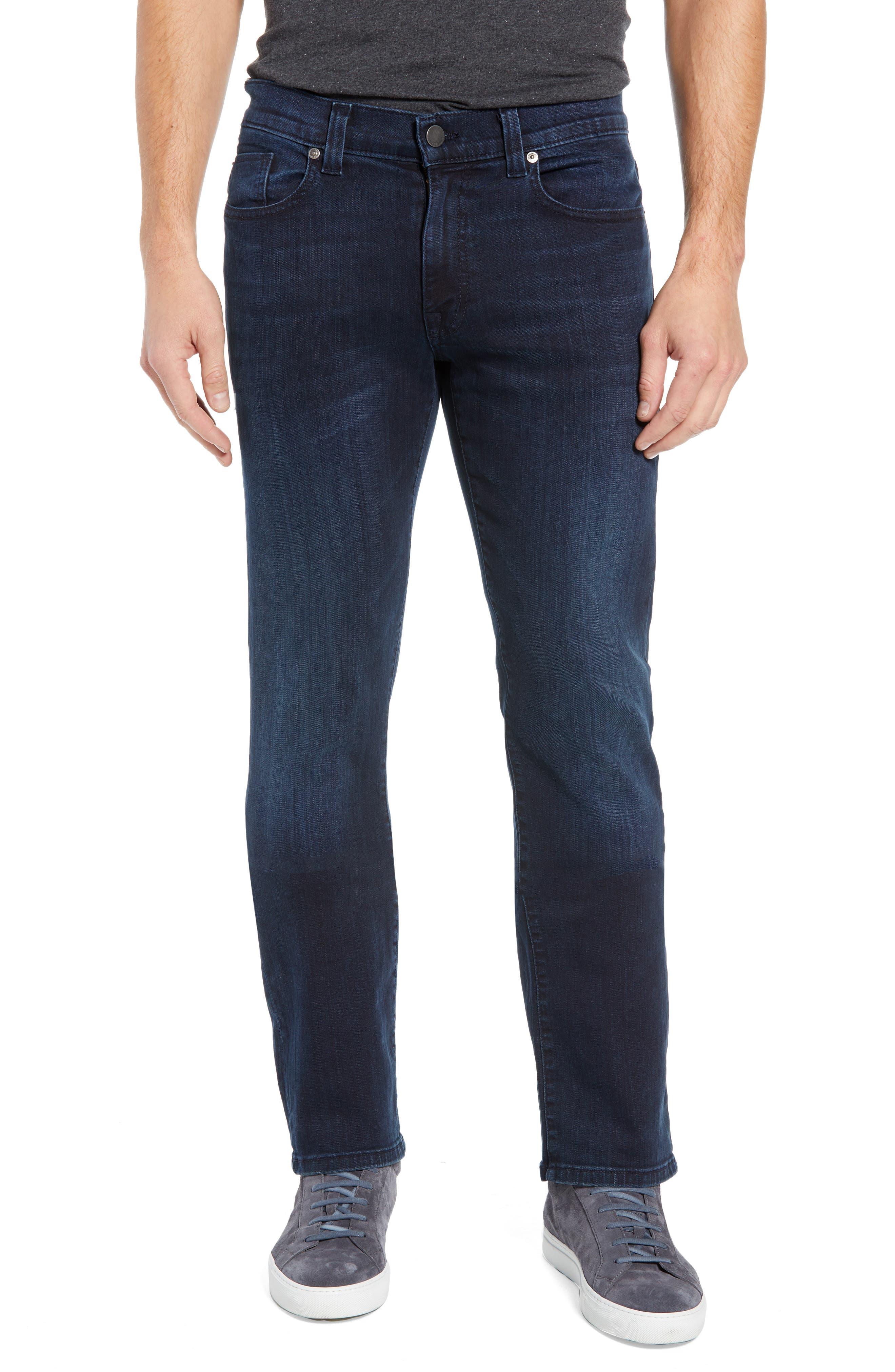 Impala Straight Leg Jeans, Main, color, GENESIS