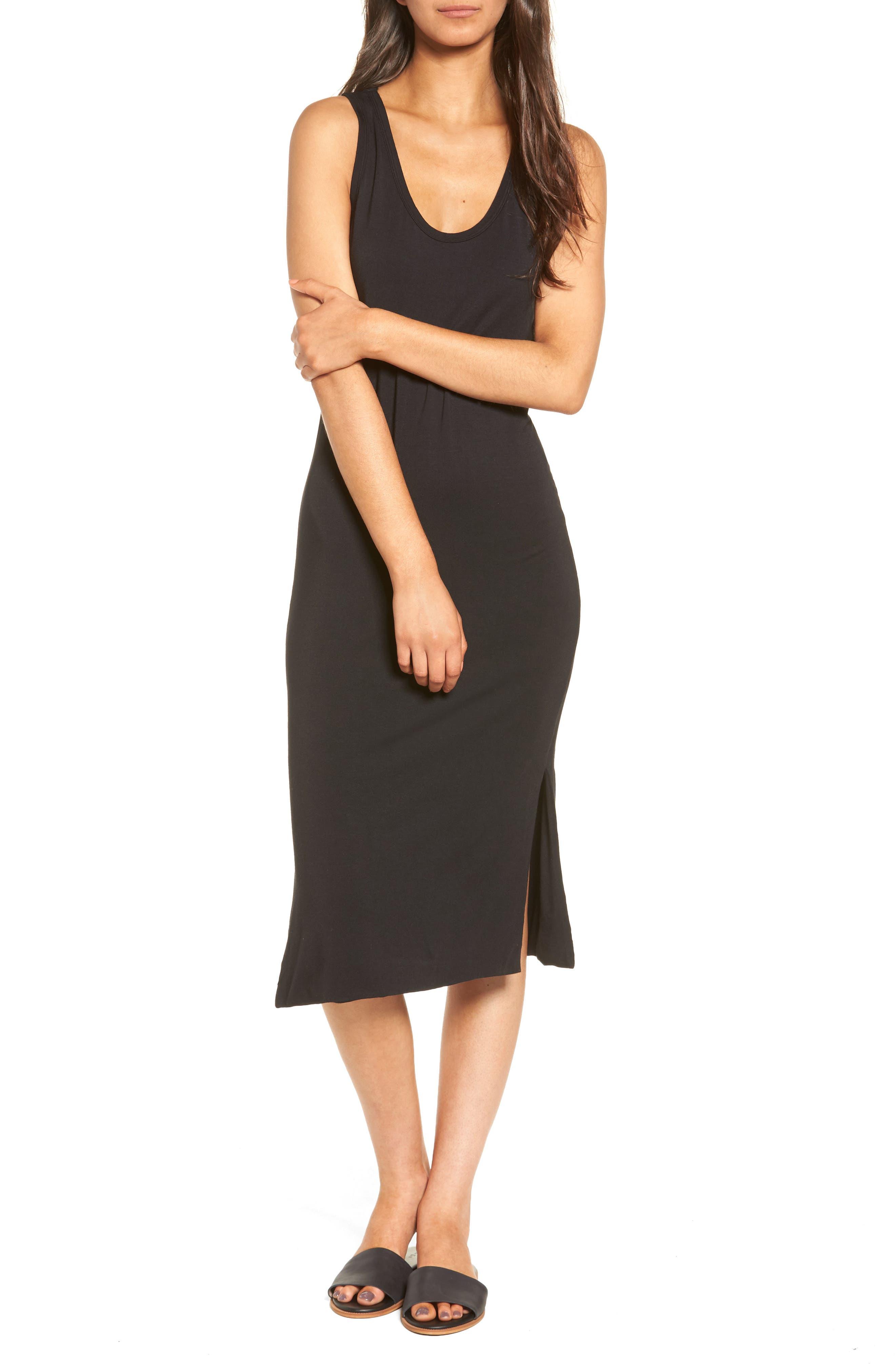 Maddie Knit Dress,                             Main thumbnail 1, color,                             001