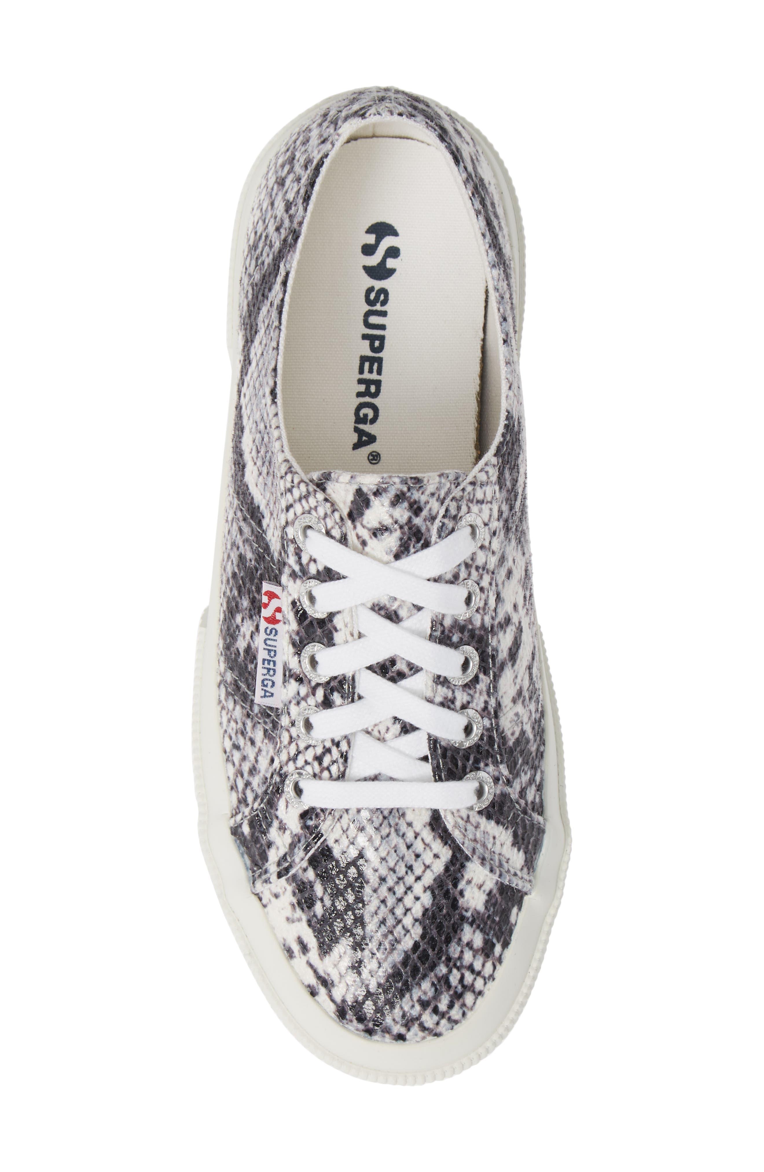 'Cotu' Sneaker,                             Alternate thumbnail 5, color,                             NATURAL SNAKE PRINT