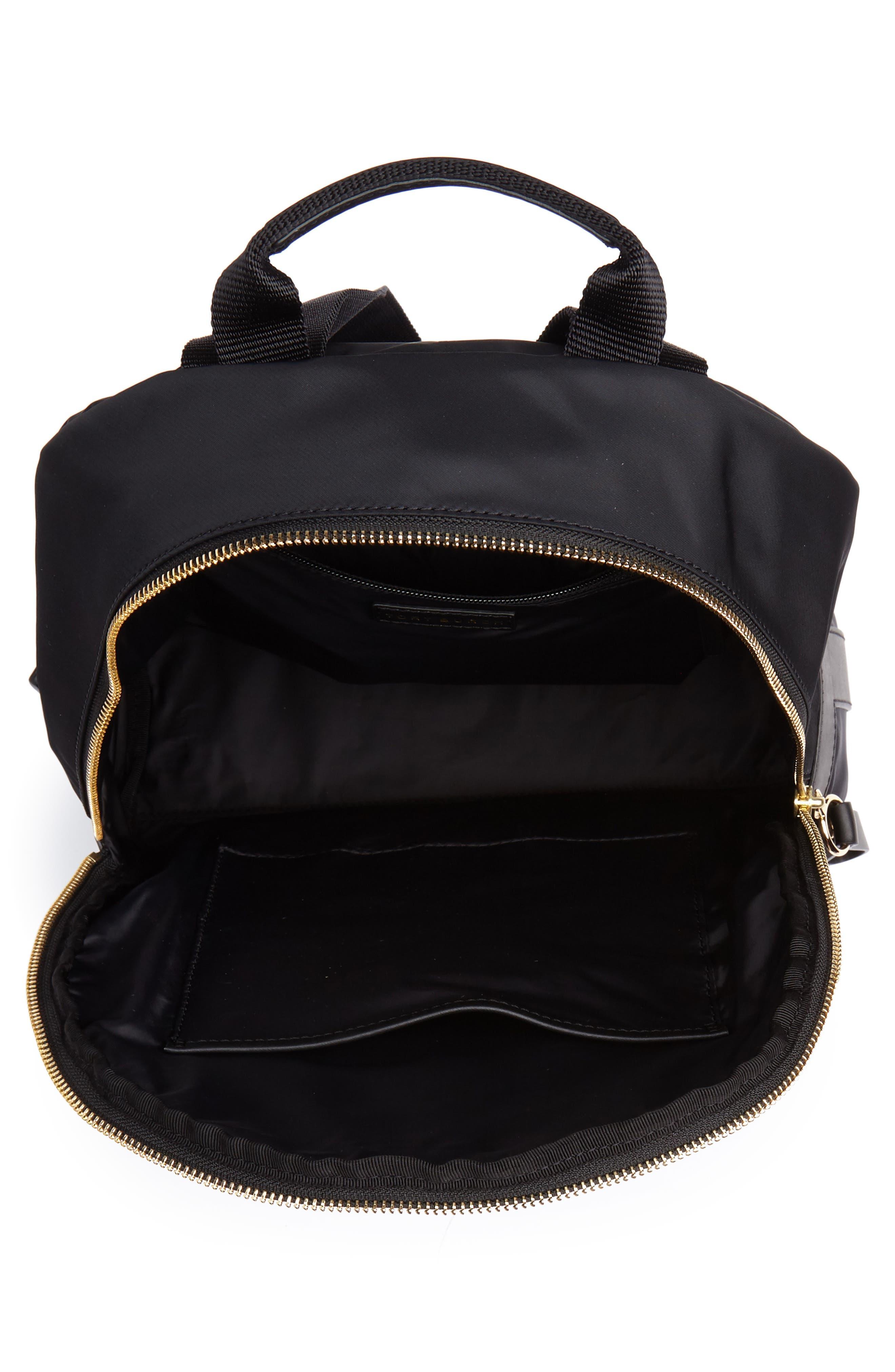 Tilda Nylon Backpack,                             Alternate thumbnail 4, color,                             001