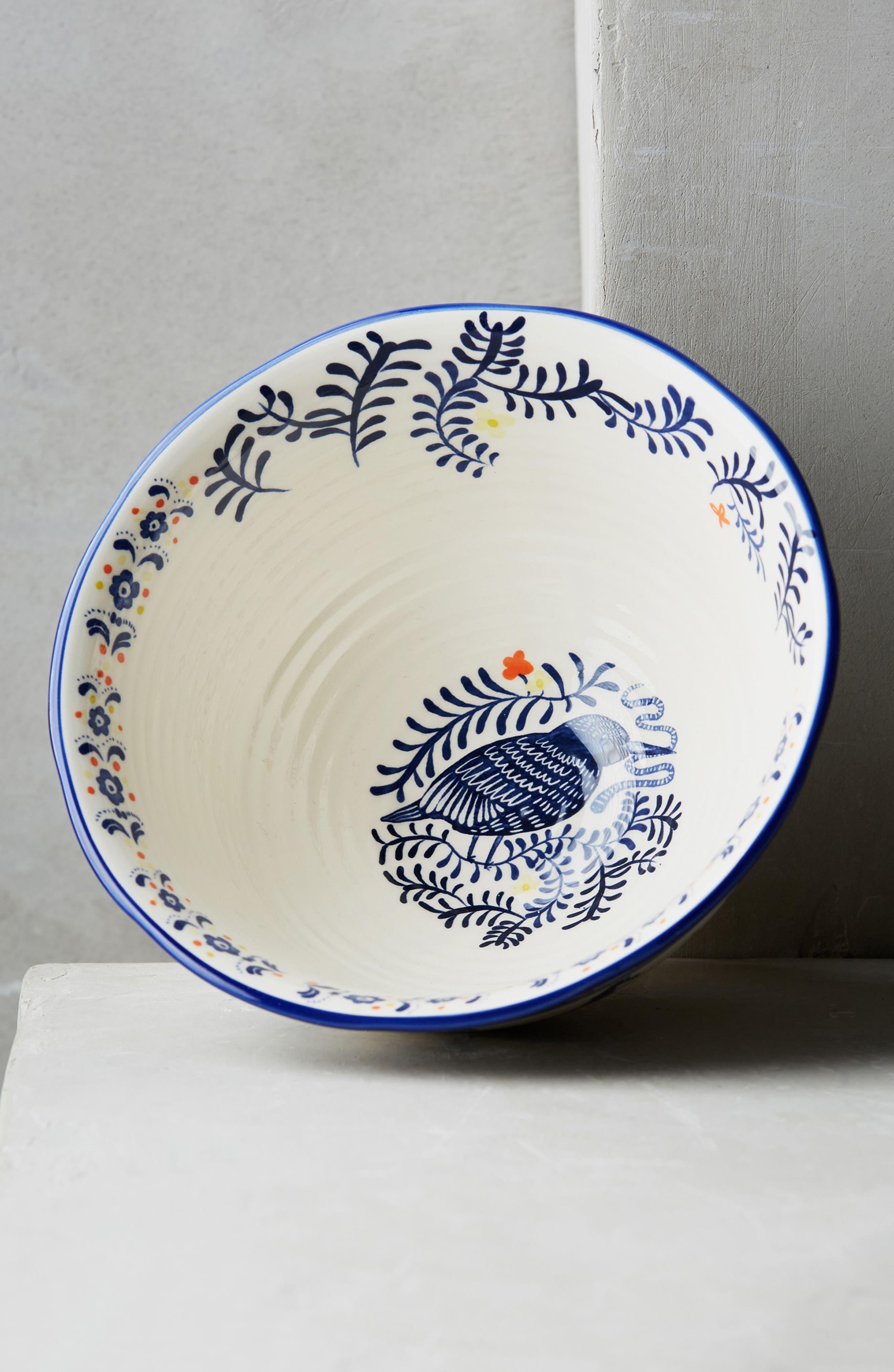 Saga Ceramic Cereal Bowl,                             Alternate thumbnail 3, color,                             400