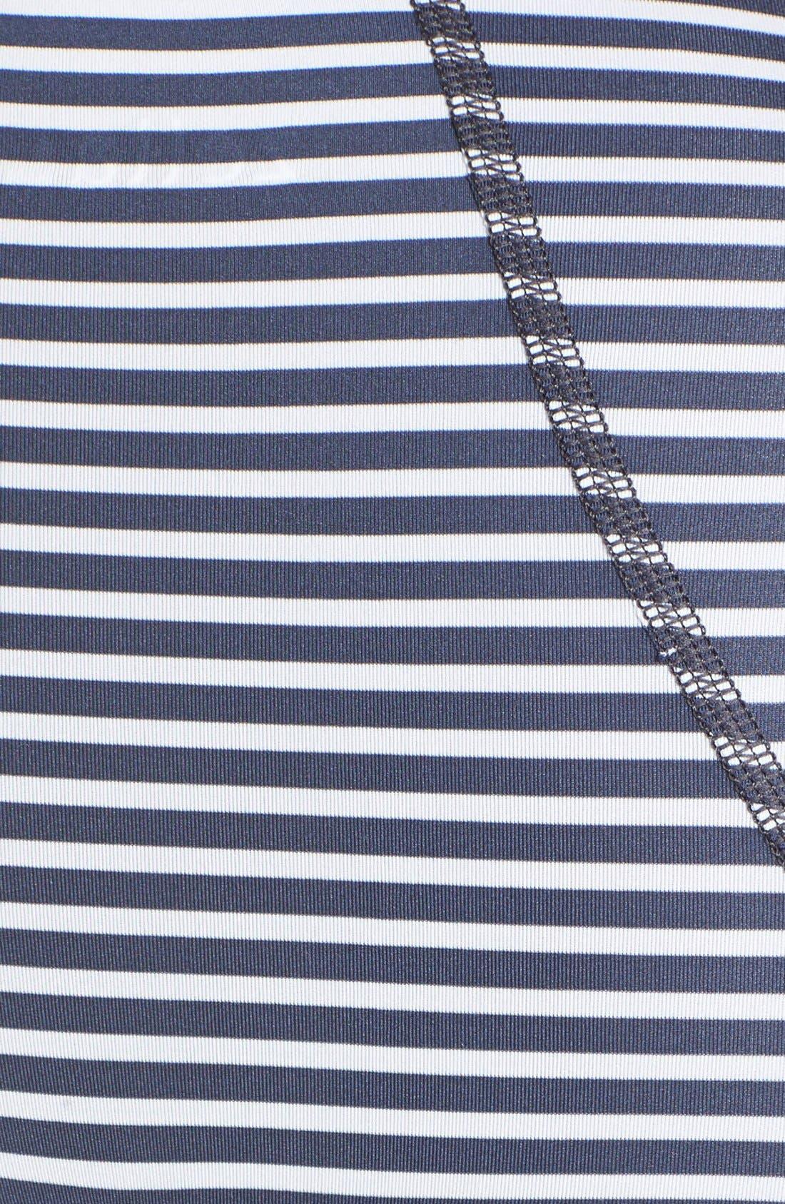 'Run' Stripe Half Zip Pullover,                             Alternate thumbnail 2, color,                             020