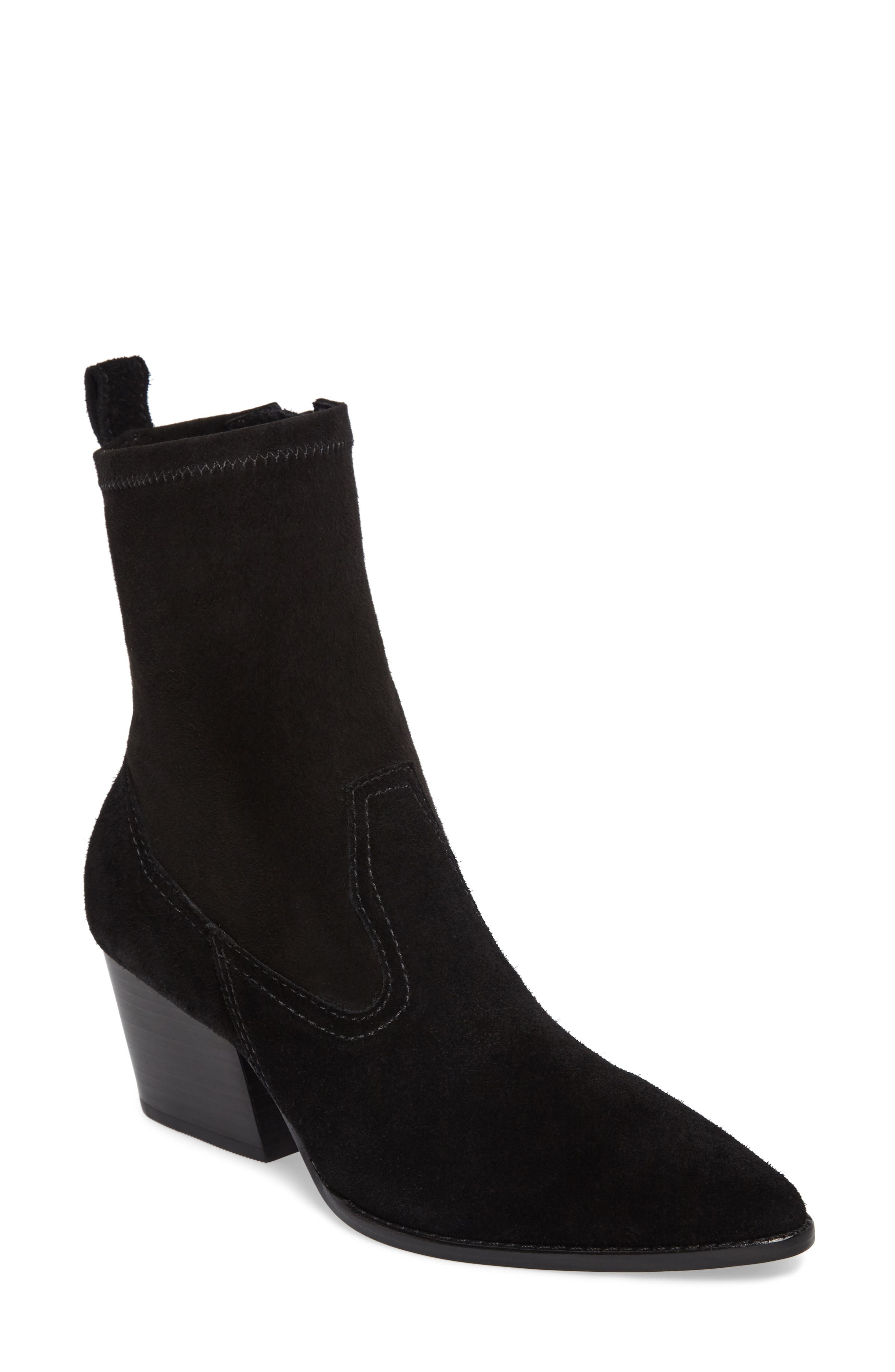 Flash Stretch Shaft Bootie,                         Main,                         color, 001