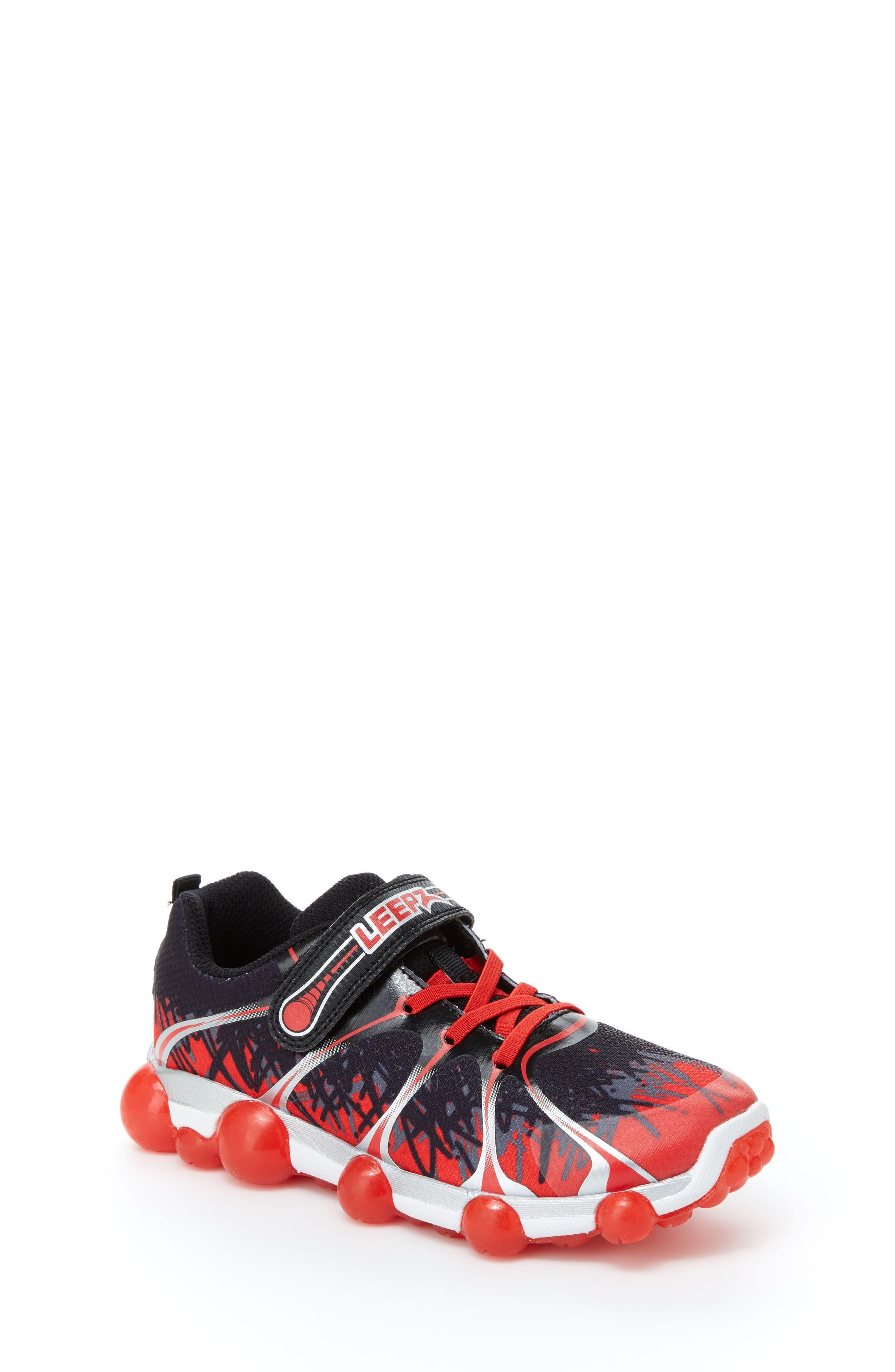 'Leepz' Light-Up Sneaker,                             Main thumbnail 1, color,