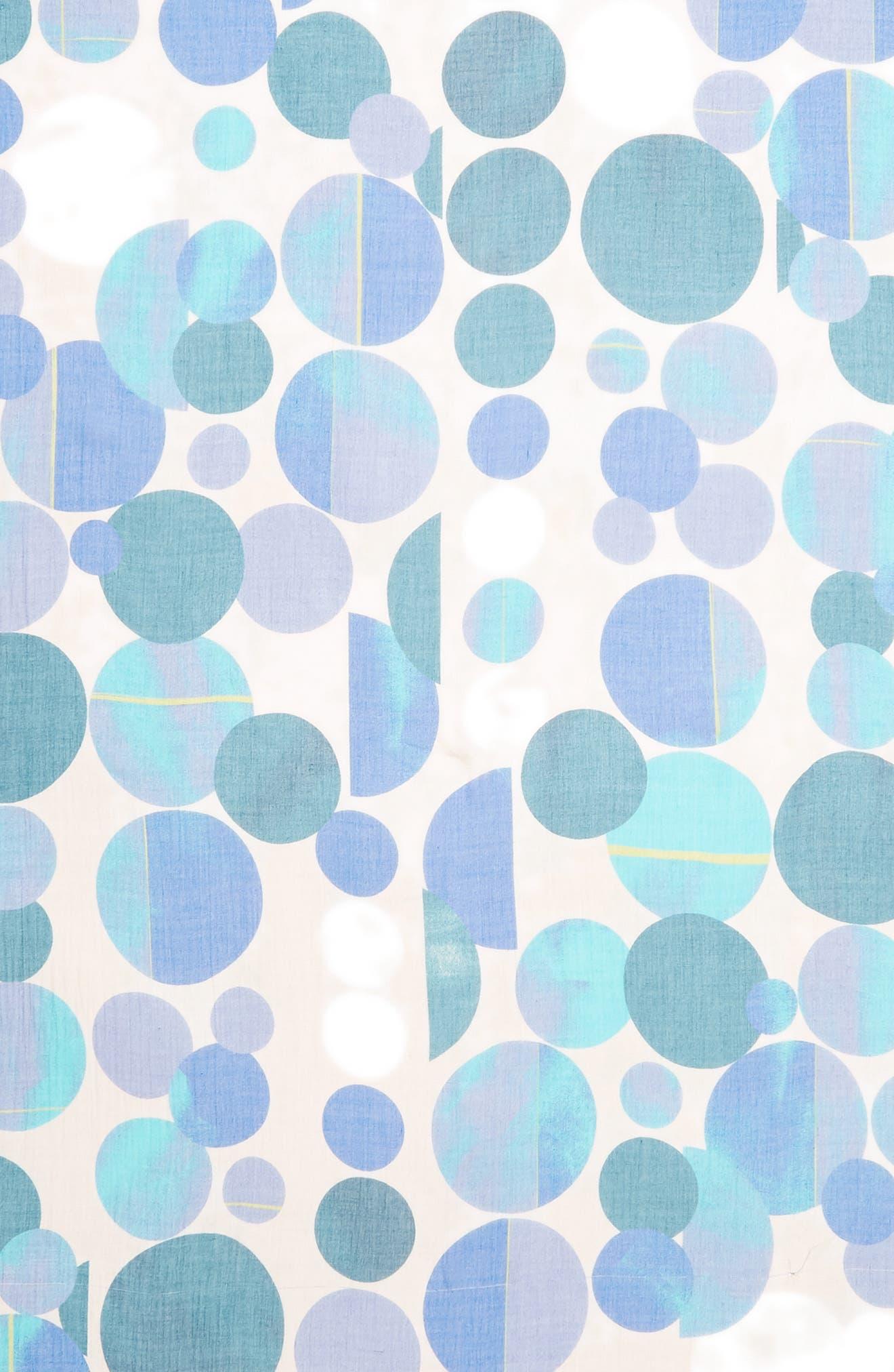 Dot Print Square Scarf,                             Alternate thumbnail 13, color,