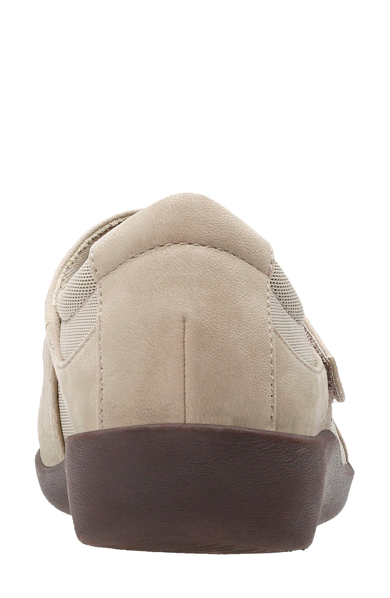 CLARKS<SUP>®</SUP>,                             Sillian Bella Mary Jane Flat,                             Alternate thumbnail 6, color,                             SAND SYNTHETIC NUBUCK