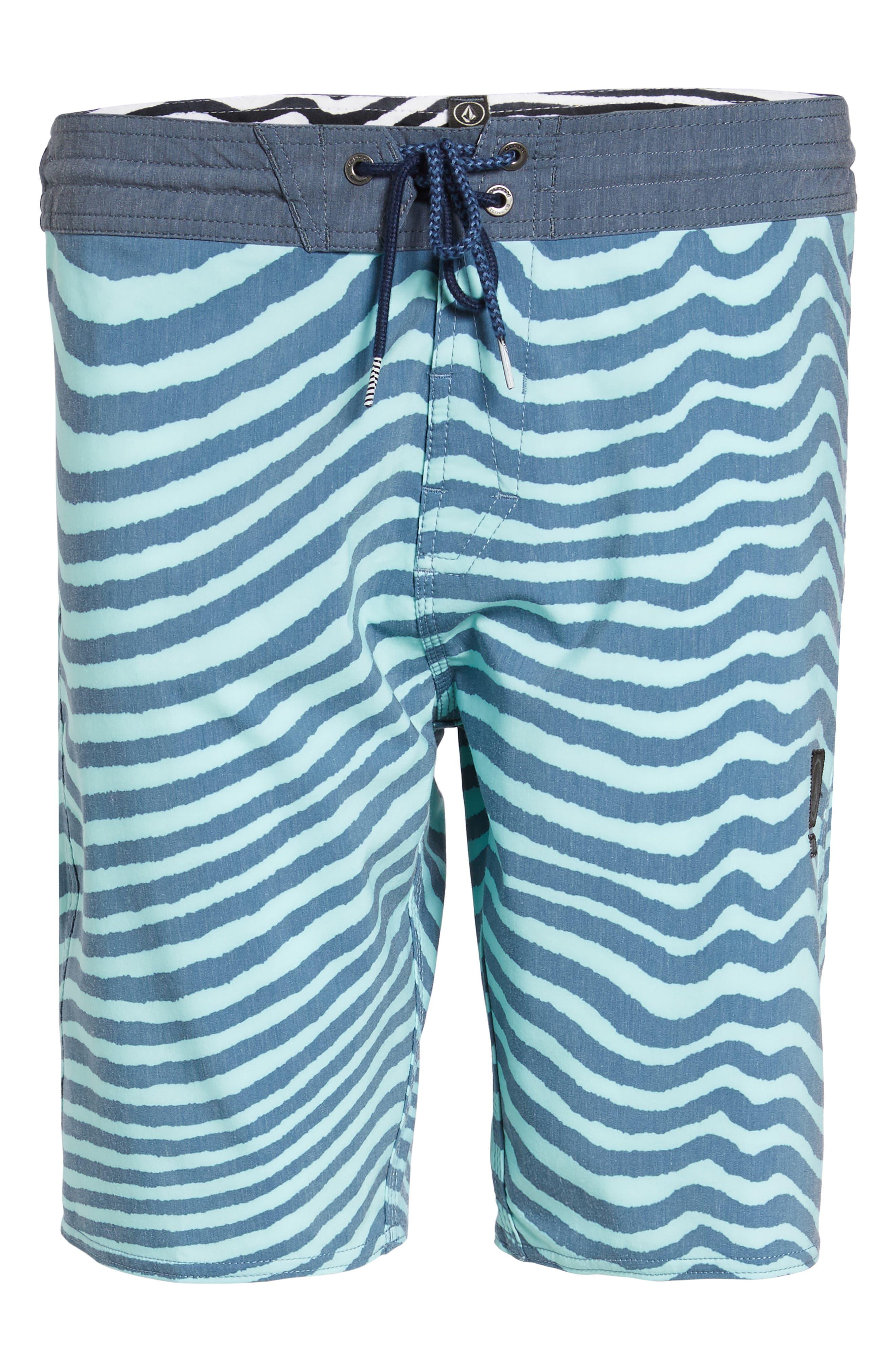 Stripey Slinger Board Shorts,                             Alternate thumbnail 46, color,