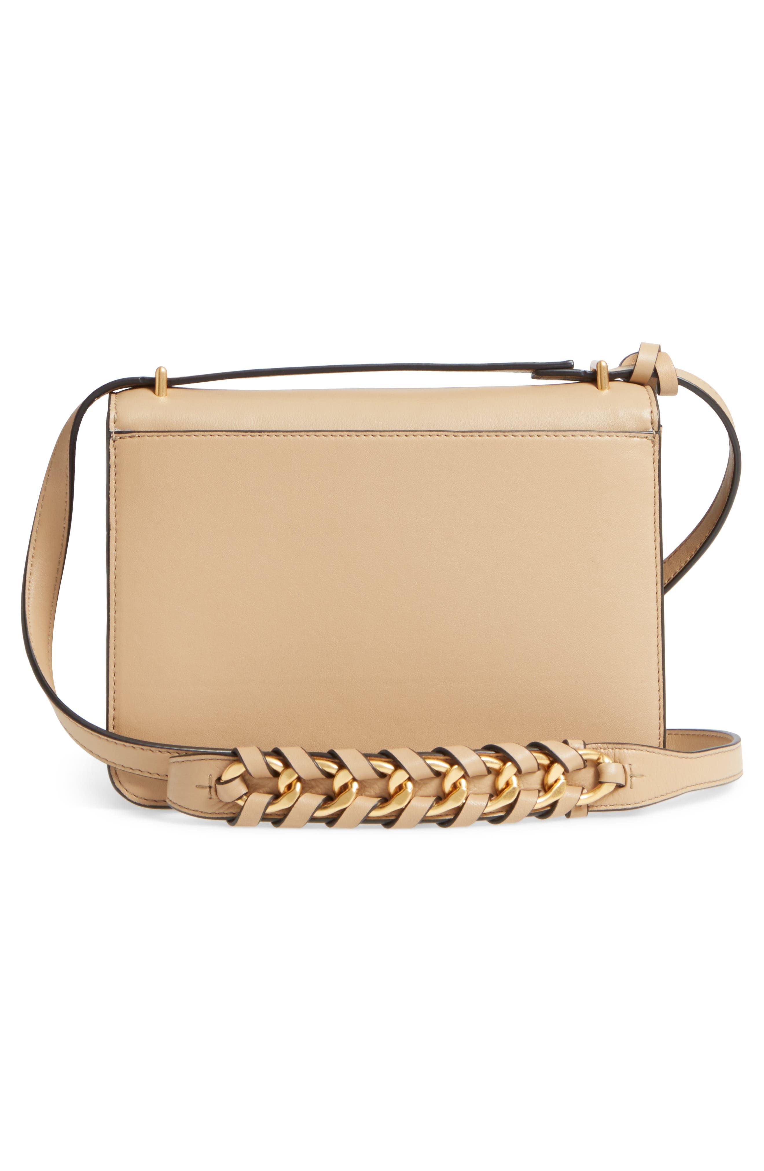 Brooke Leather Crossbody Bag,                             Alternate thumbnail 8, color,