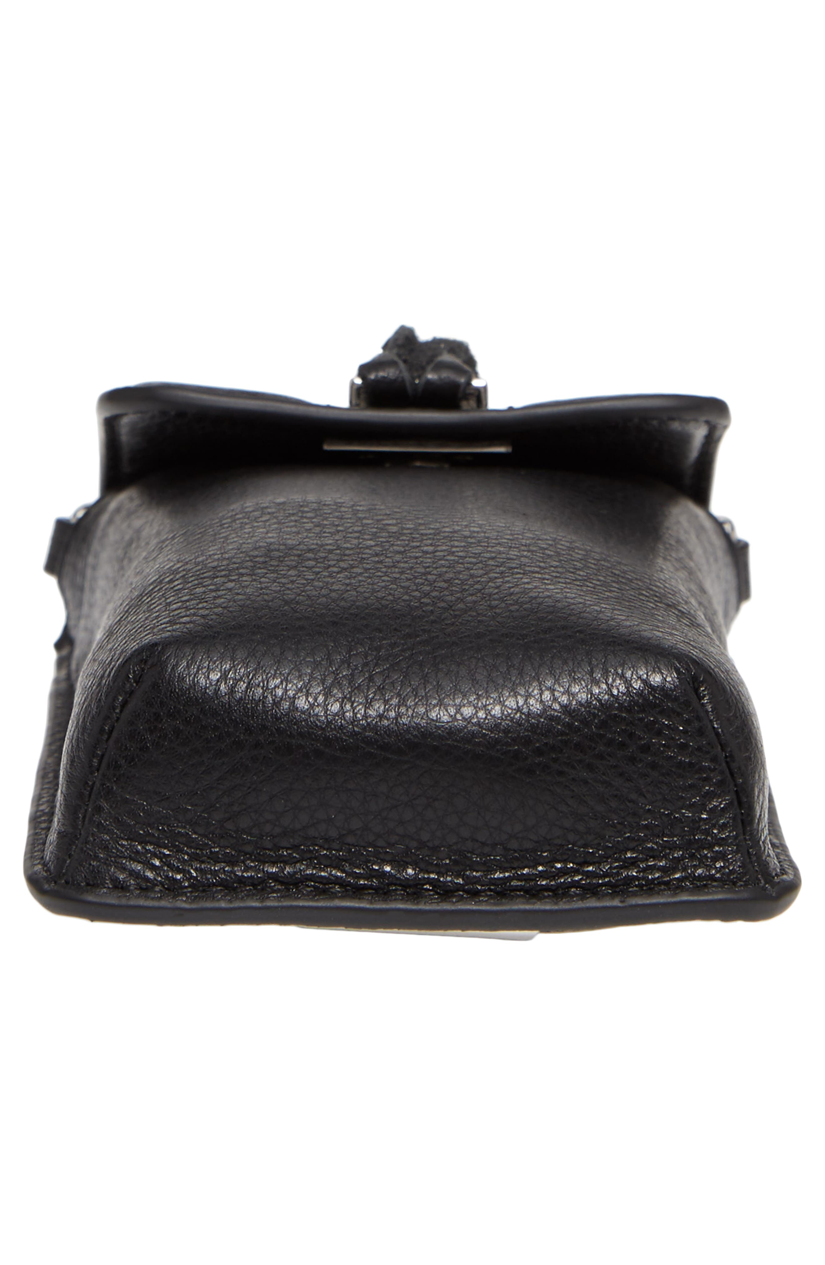 Darren Leather Phone Crossbody Bag,                             Alternate thumbnail 11, color,