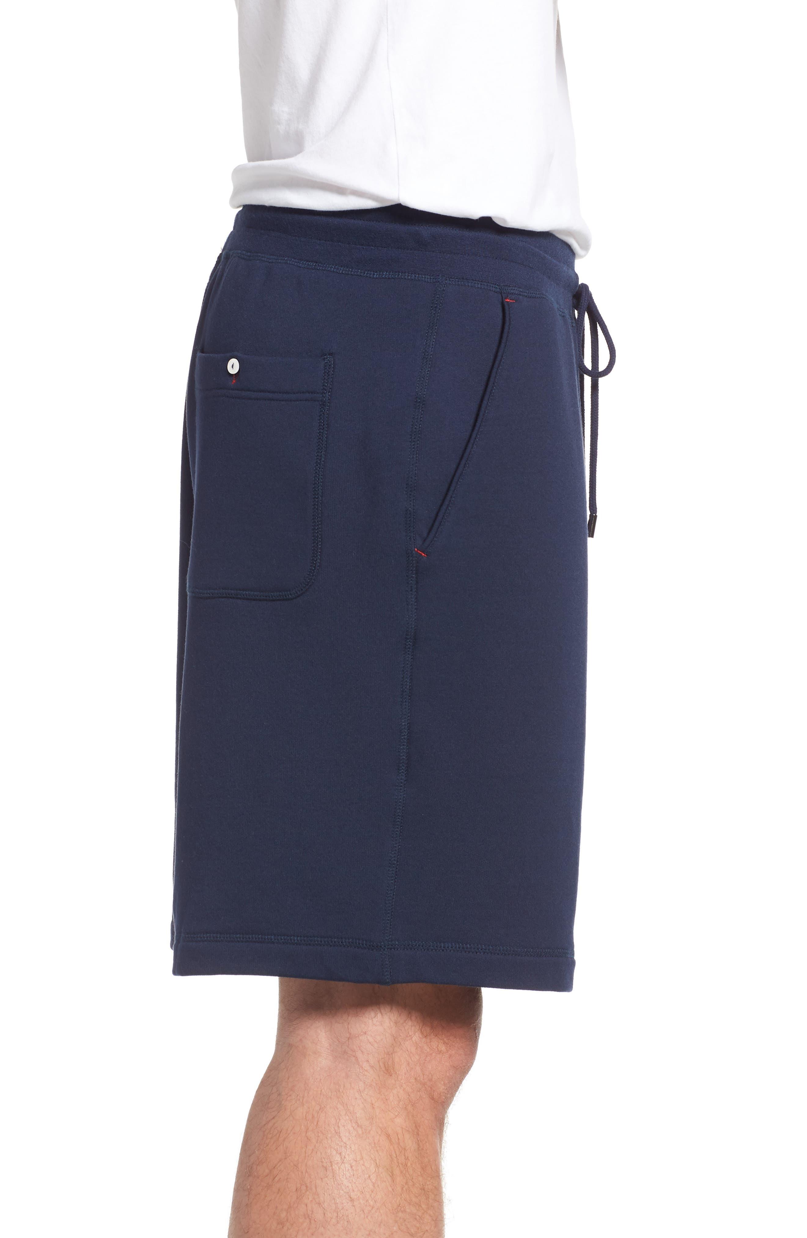Modal Blend Lounge Shorts,                             Alternate thumbnail 3, color,                             NAVY