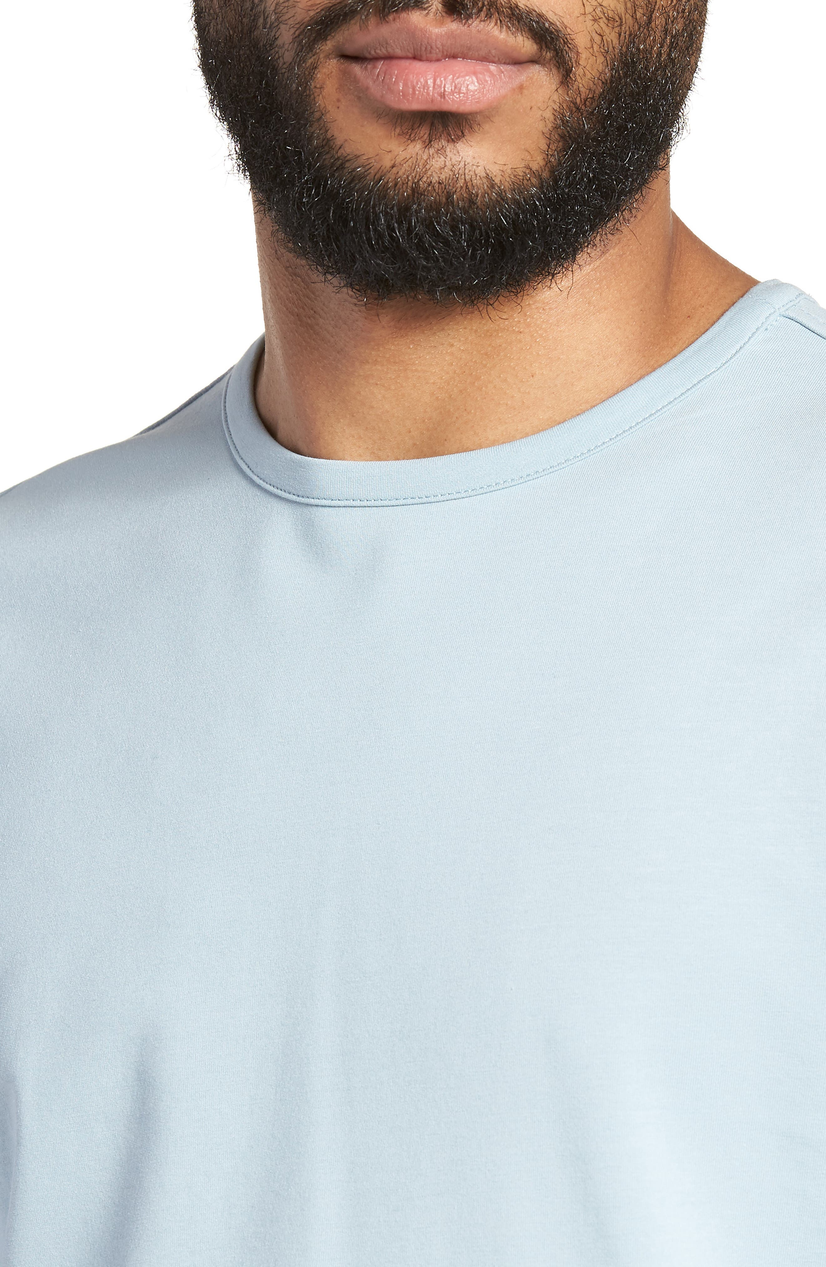 Trim Fit Long Sleeve T-Shirt,                             Alternate thumbnail 11, color,