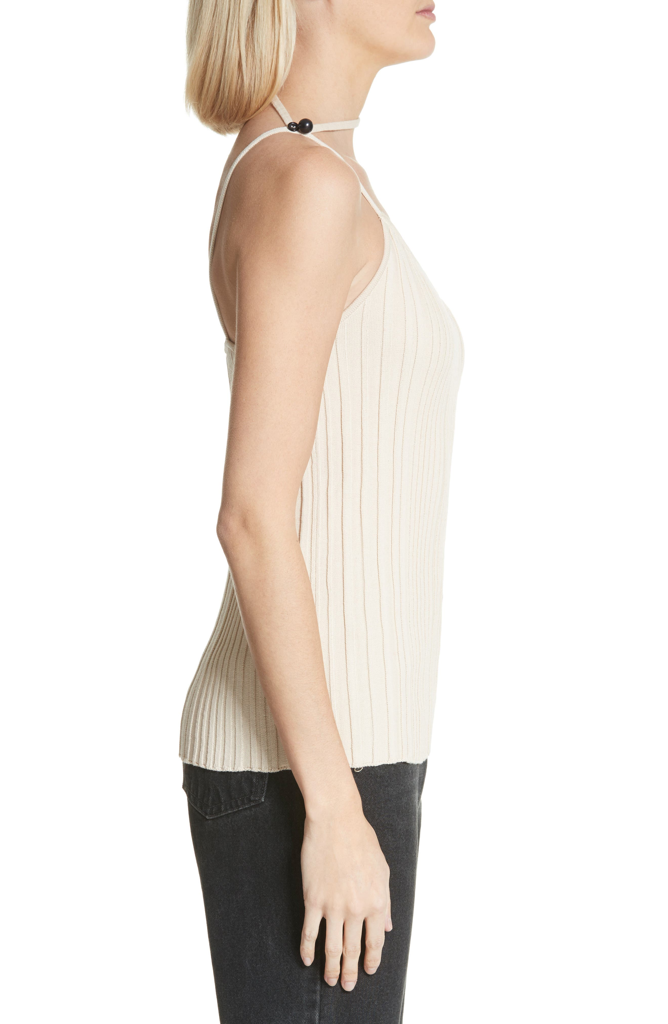 Le Top Pinhao One-Shoulder Tank Top,                             Alternate thumbnail 6, color,