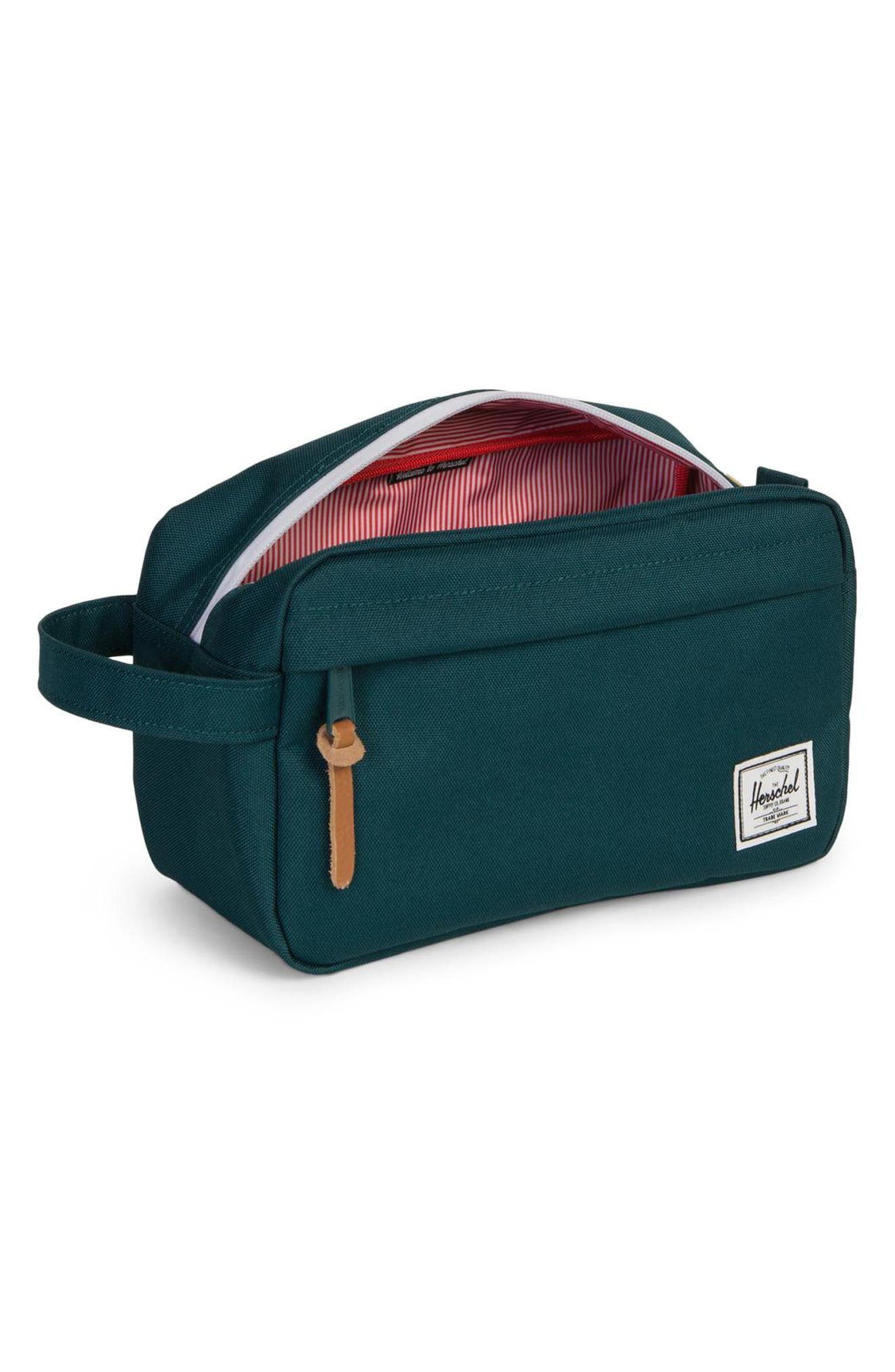 'Chapter' Toiletry Case,                             Alternate thumbnail 2, color,                             DEEP TEAL