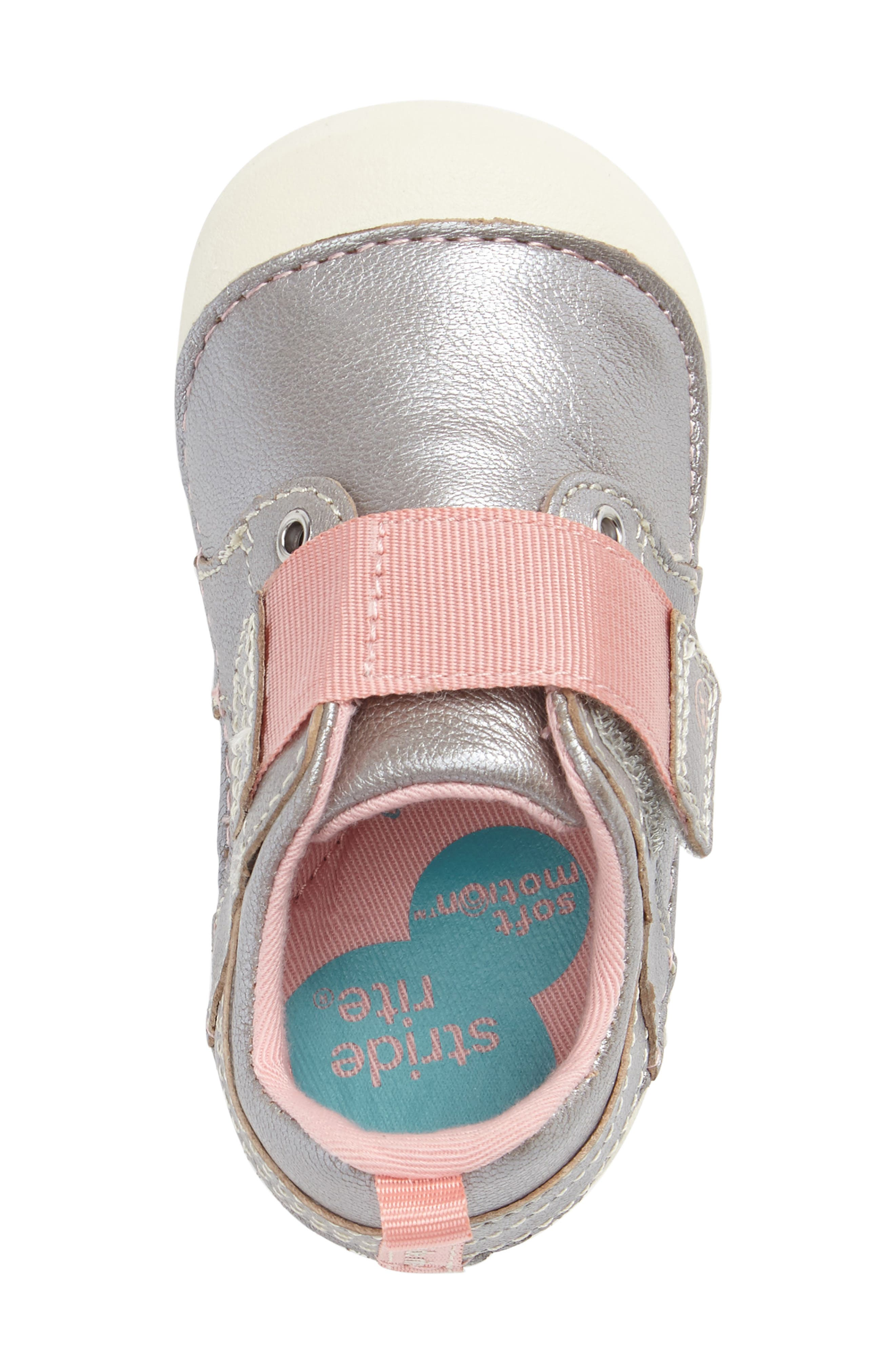 Soft Motion<sup>™</sup> Cameron Sneaker,                             Alternate thumbnail 3, color,                             SILVER